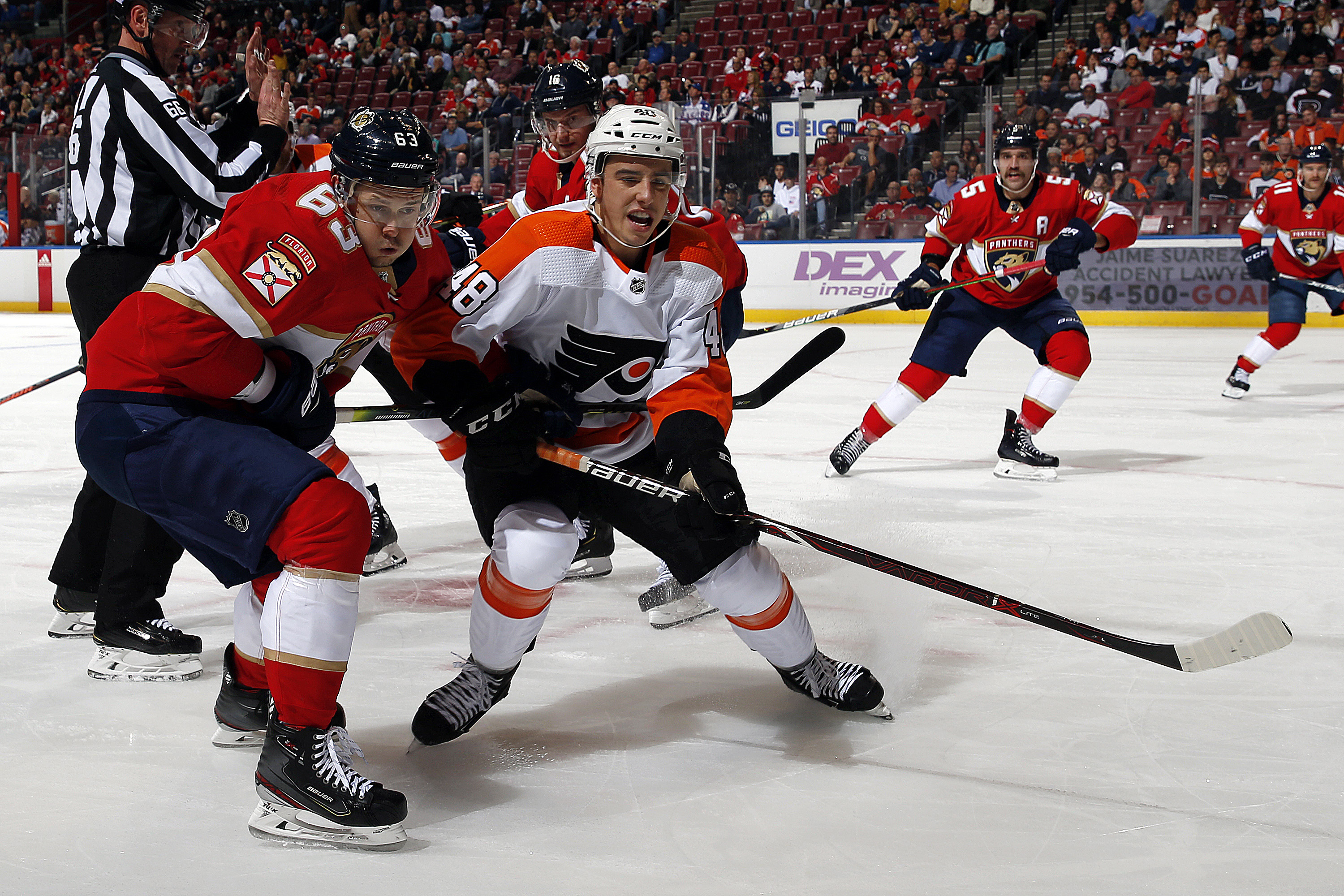 Philadelphia Flyers v Florida Panthers