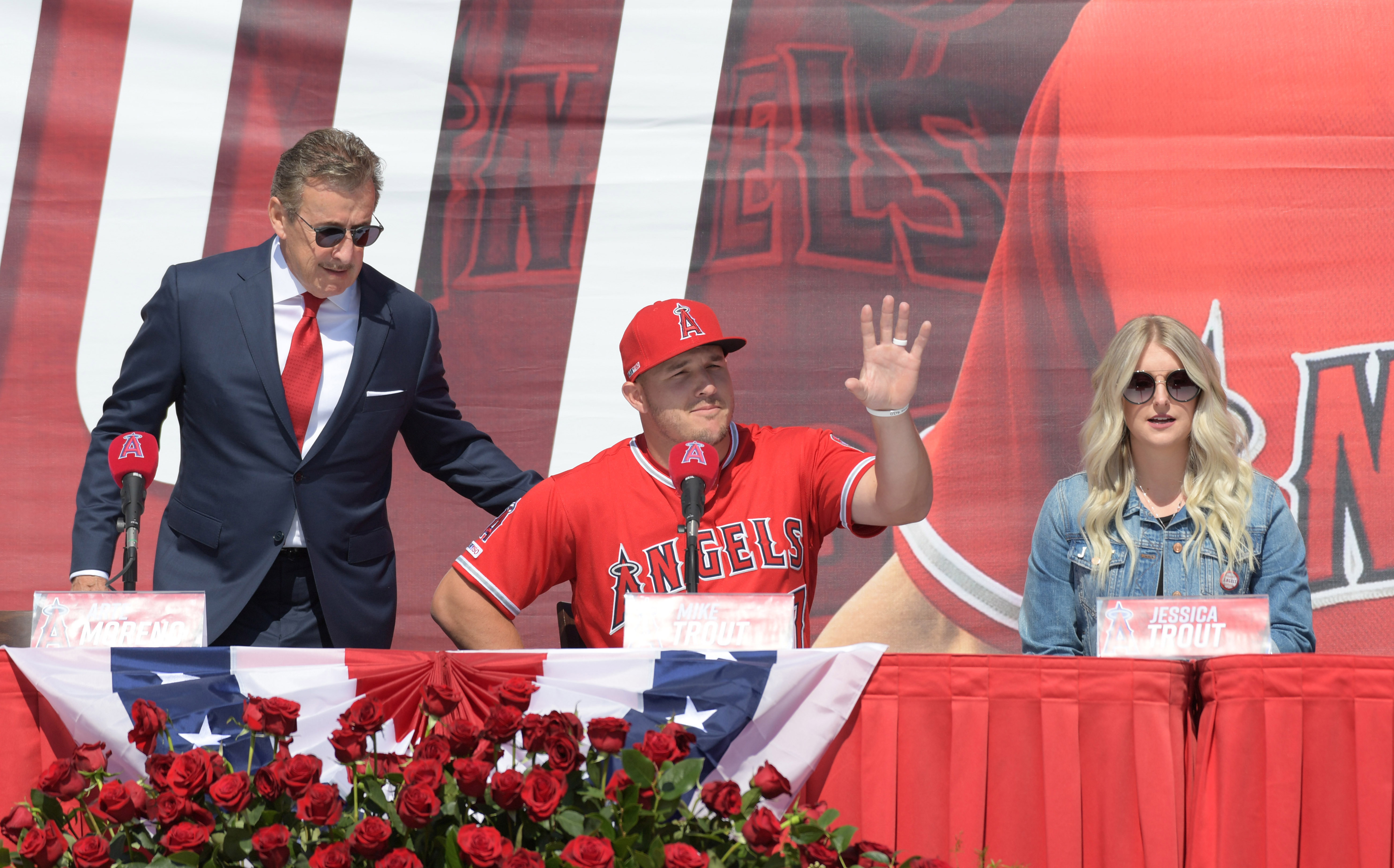 MLB: Mike Trout Press Conference