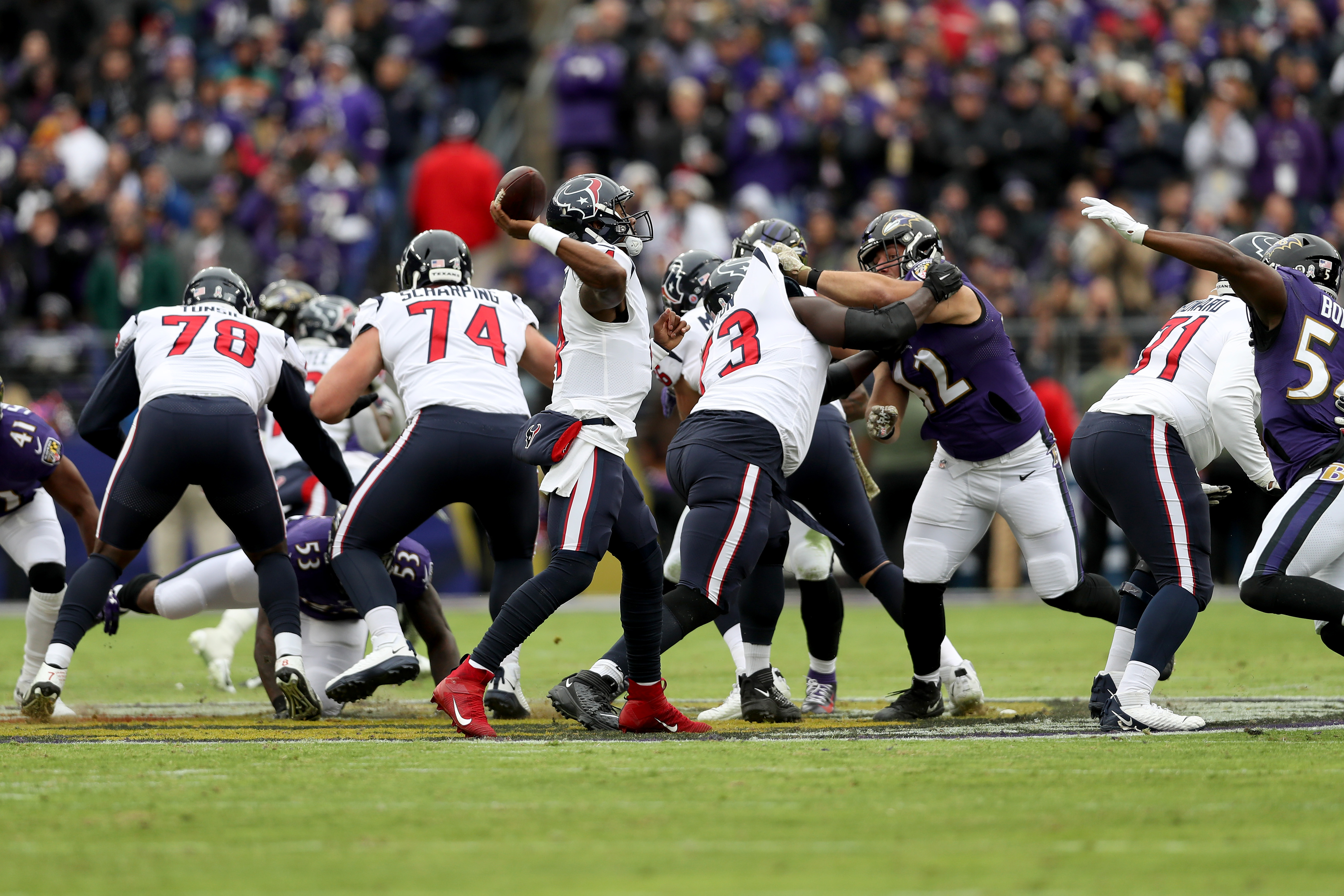 The Texans still haven't graduated from a good team to the NFL's elite
