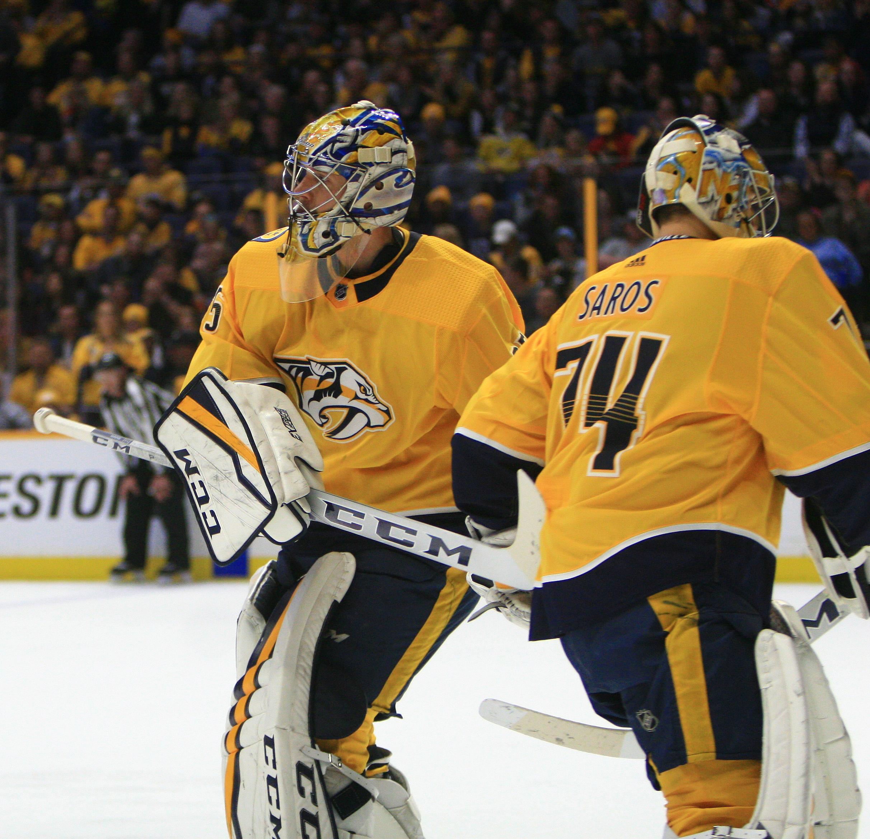 NHL: DEC 21 Hurricanes at Predators