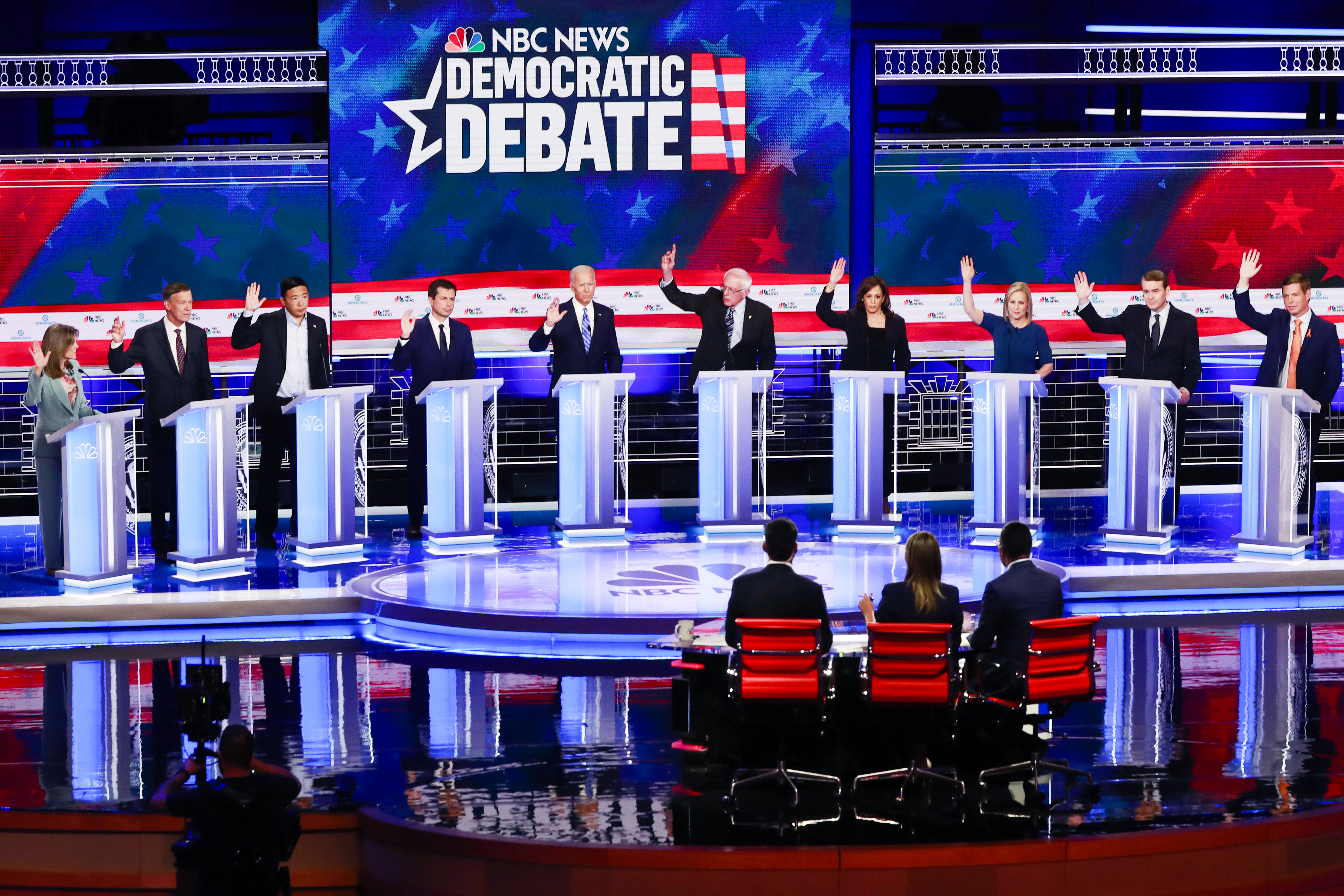 2020 Democrats call for investigation into NBC sexual misconduct allegations ahead of debate