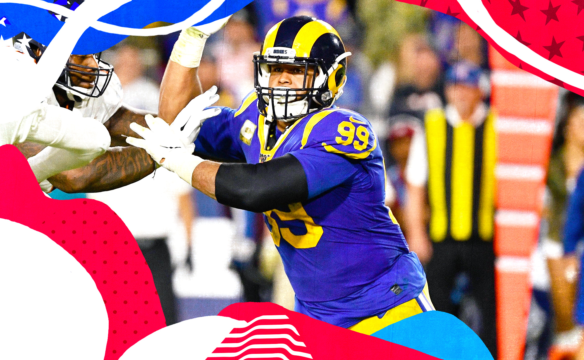 How one game-ending sack showed the magic of Aaron Donald