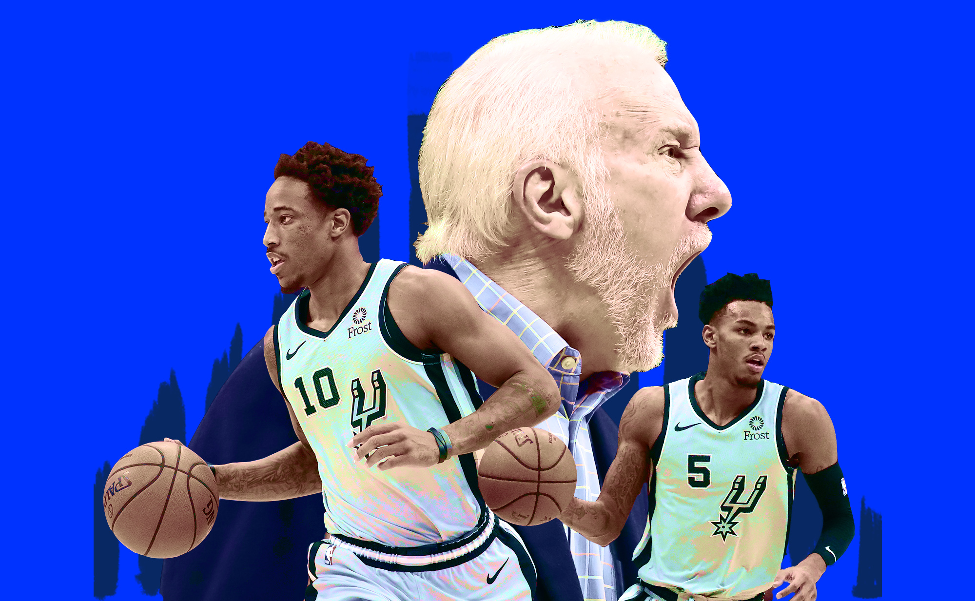 The Spurs' bad start is the cost of being stuck between eras
