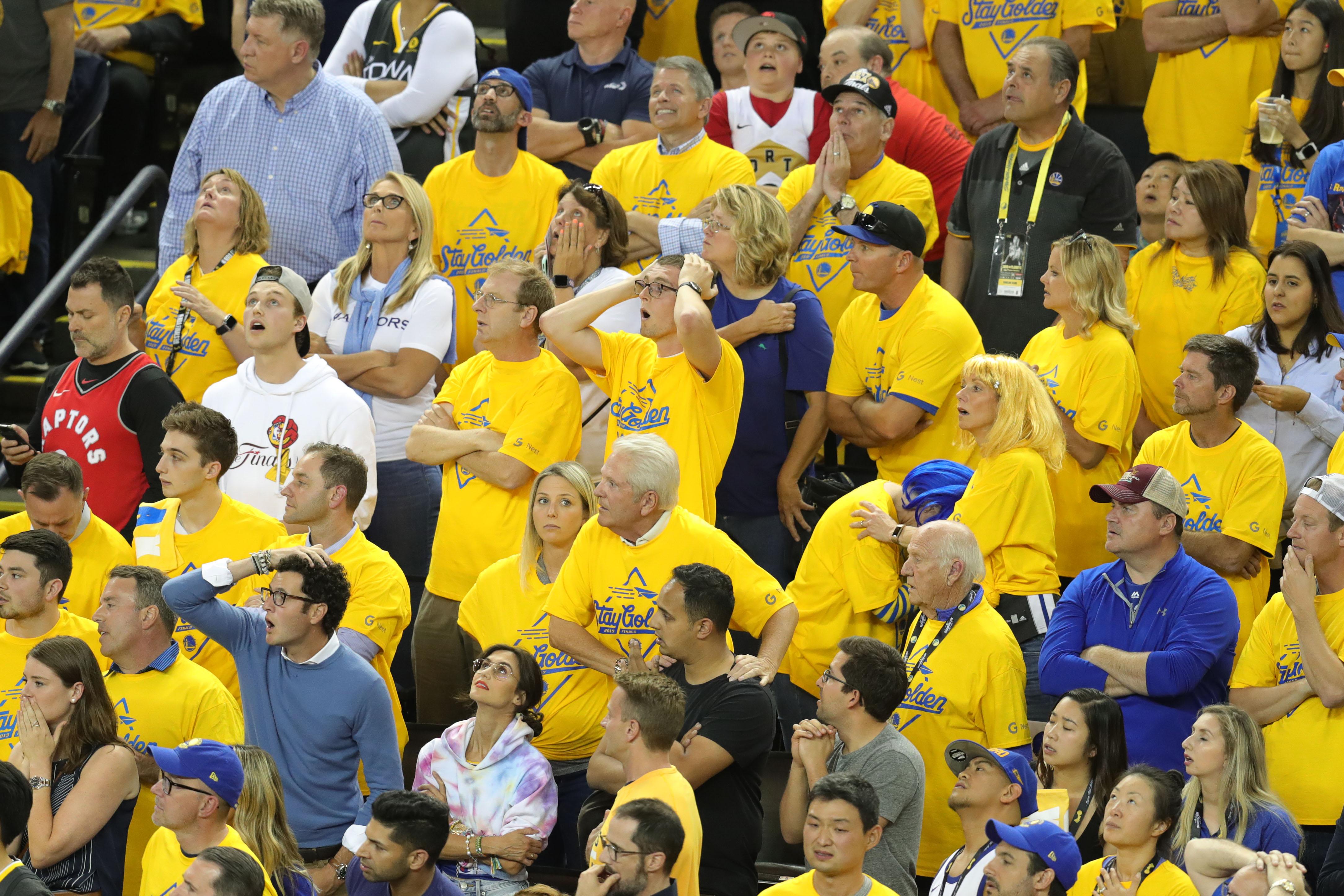 Warriors fans don't deserve this