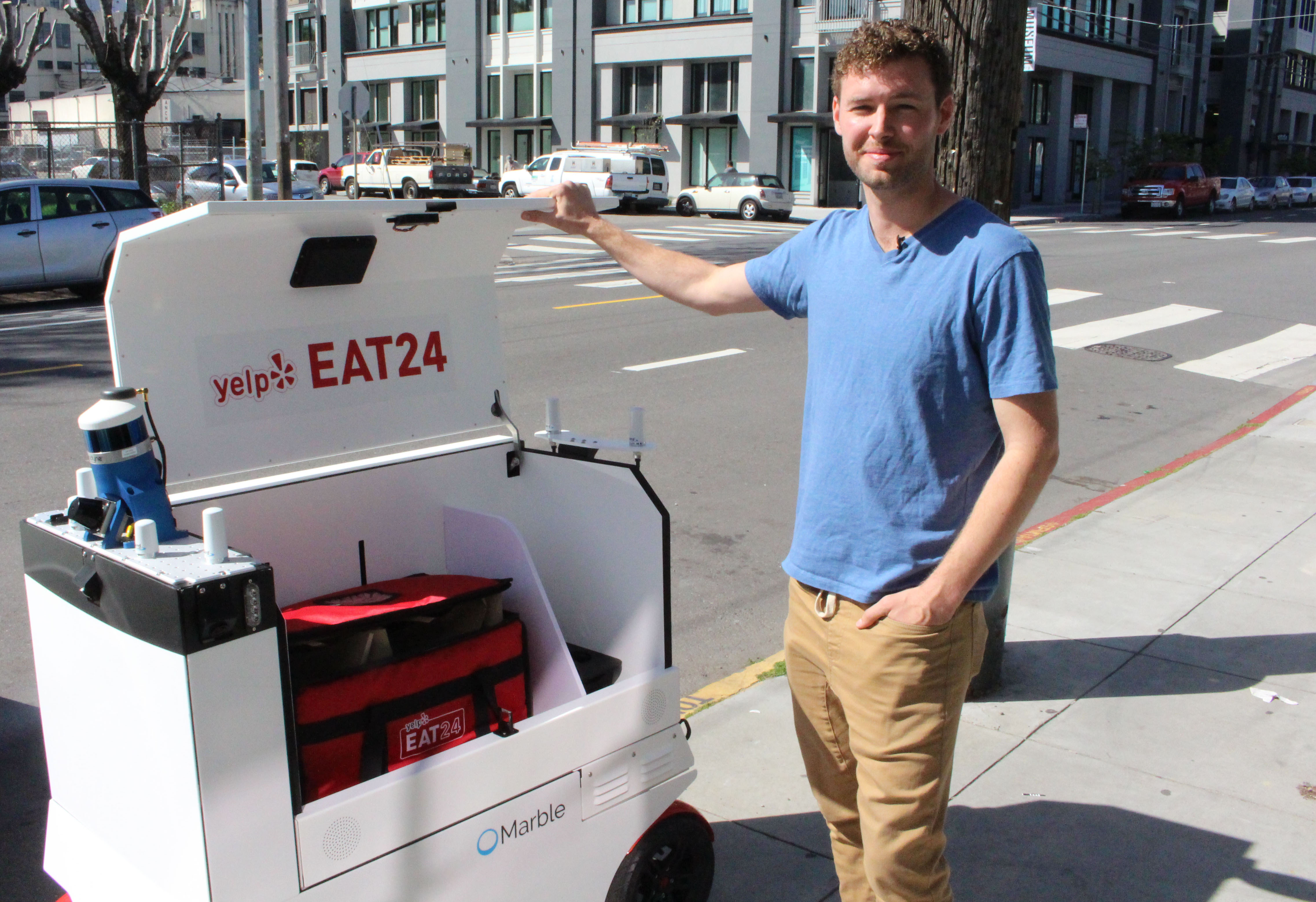 San Francisco is Launching an Office to Watch Over Food Delivery Robots