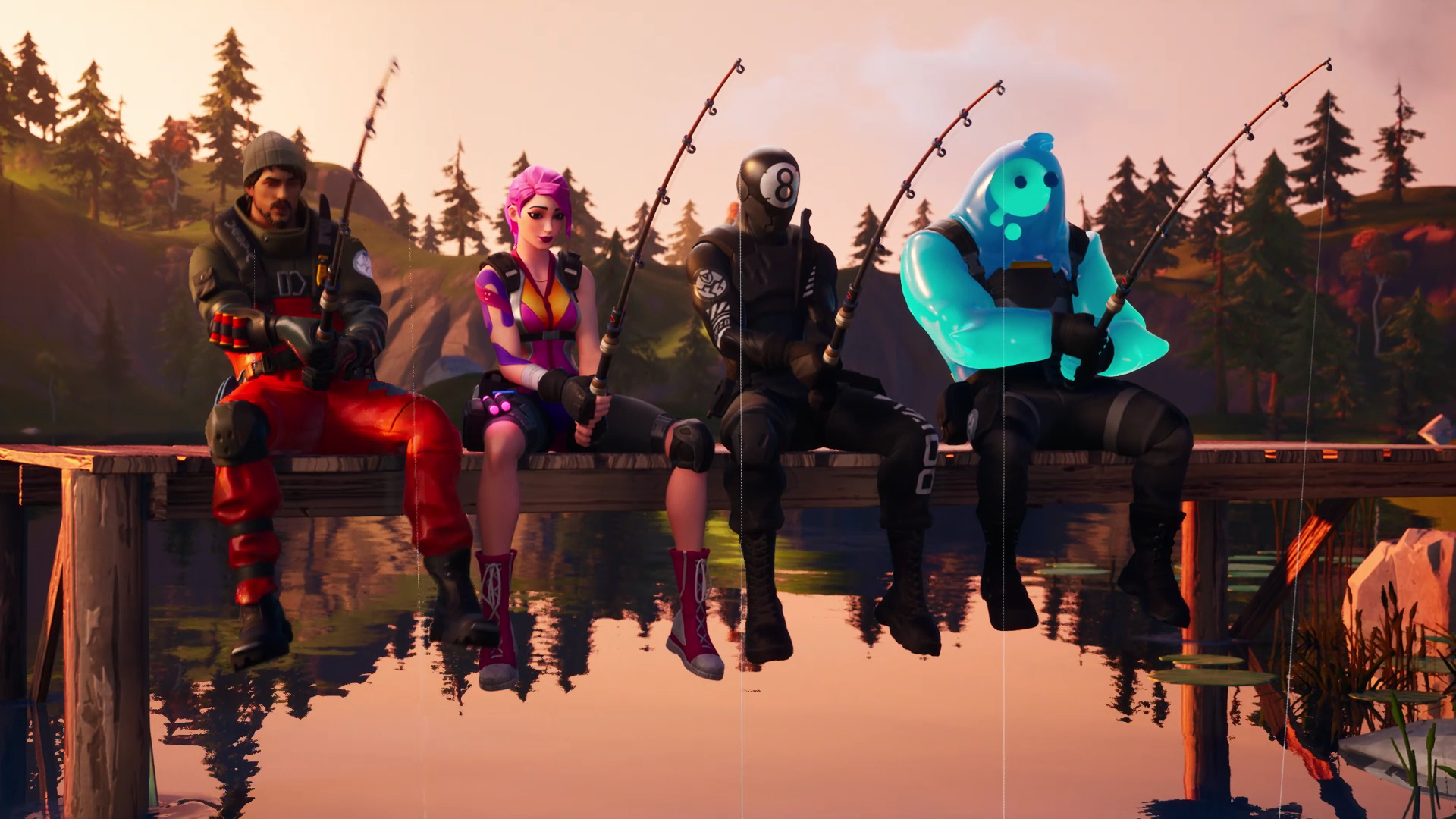 Fortnite is holding a fishing competition