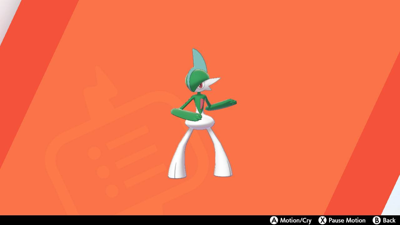 A Gallade in Pokémon Sword and Shield