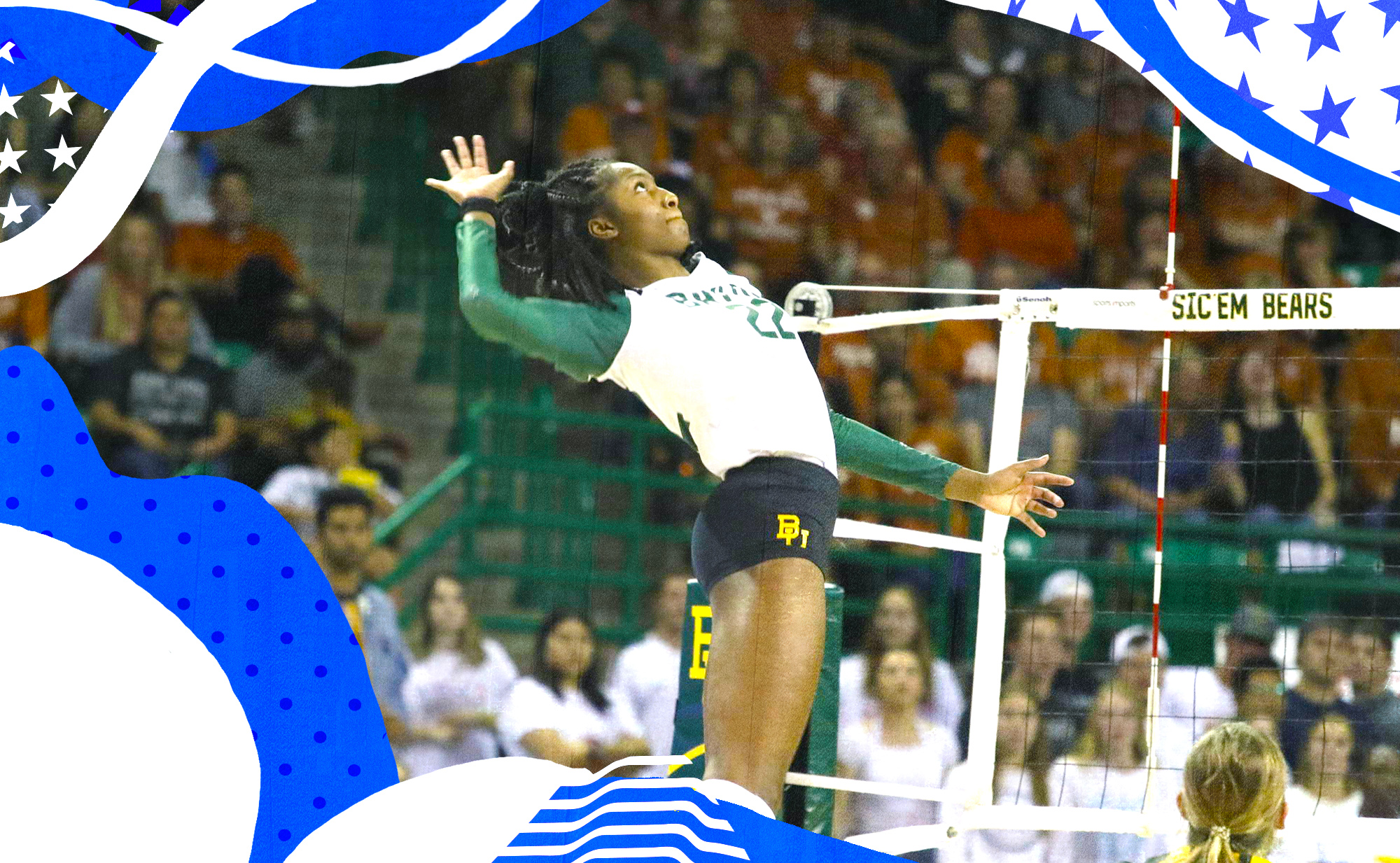 Baylor's Yossiana Pressley is why we all need to watch more volleyball