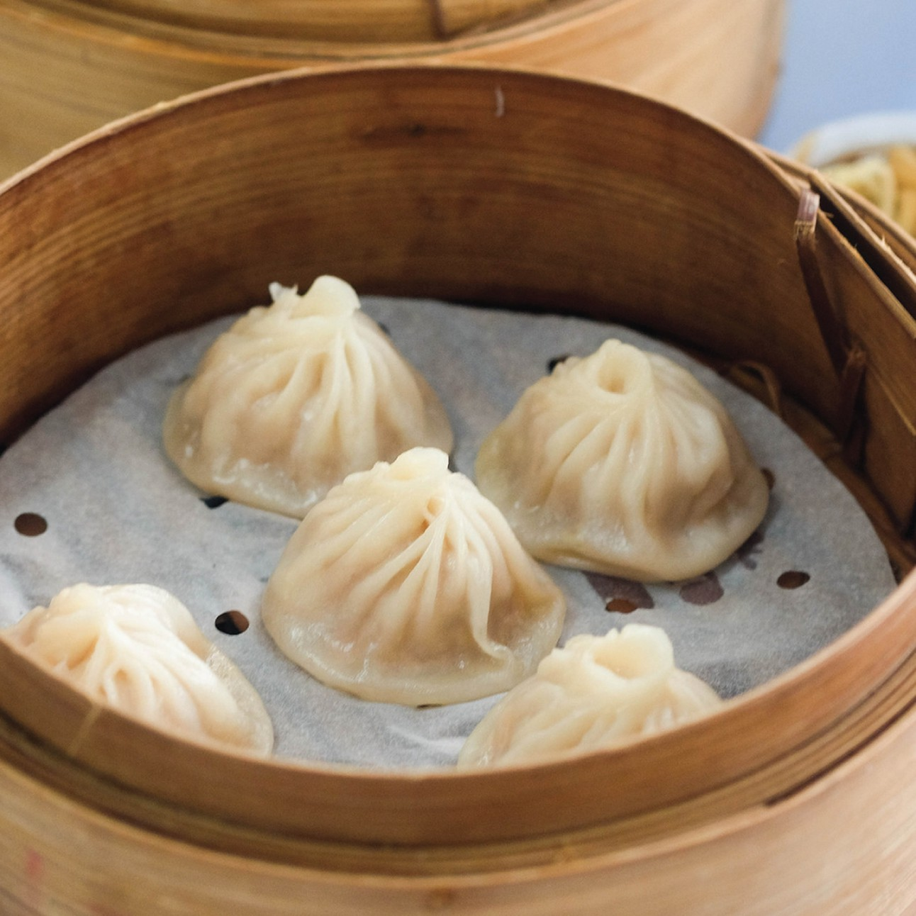 Soup dumplings from Maketto