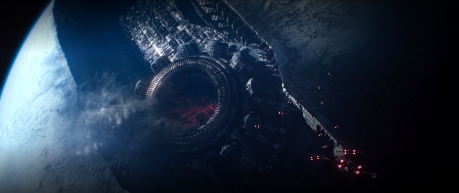Starkiller Base from Star Wars: The Force Awakens