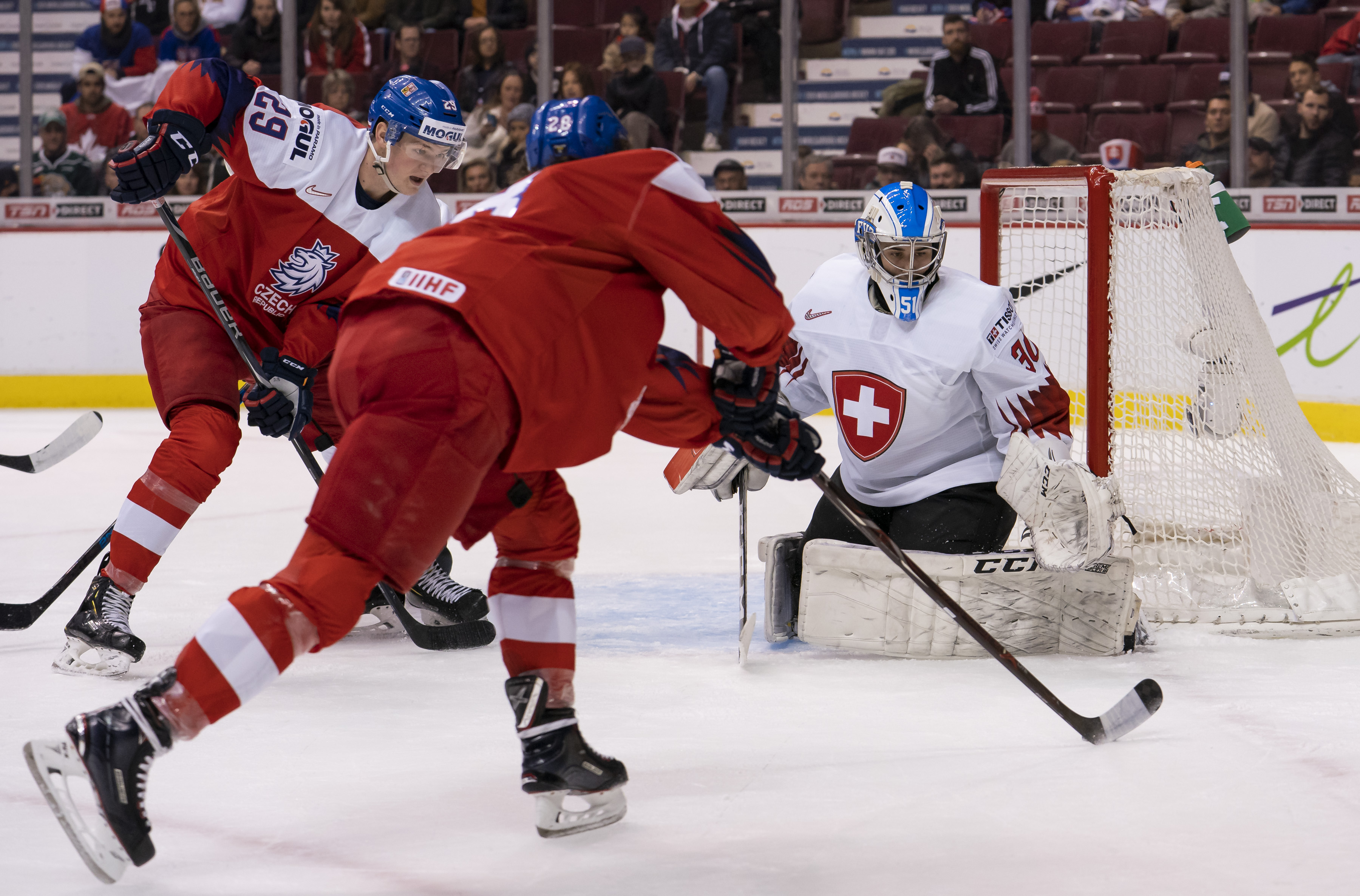 Czech Republic v Switzerland - 2019 IIHF World Junior Championship