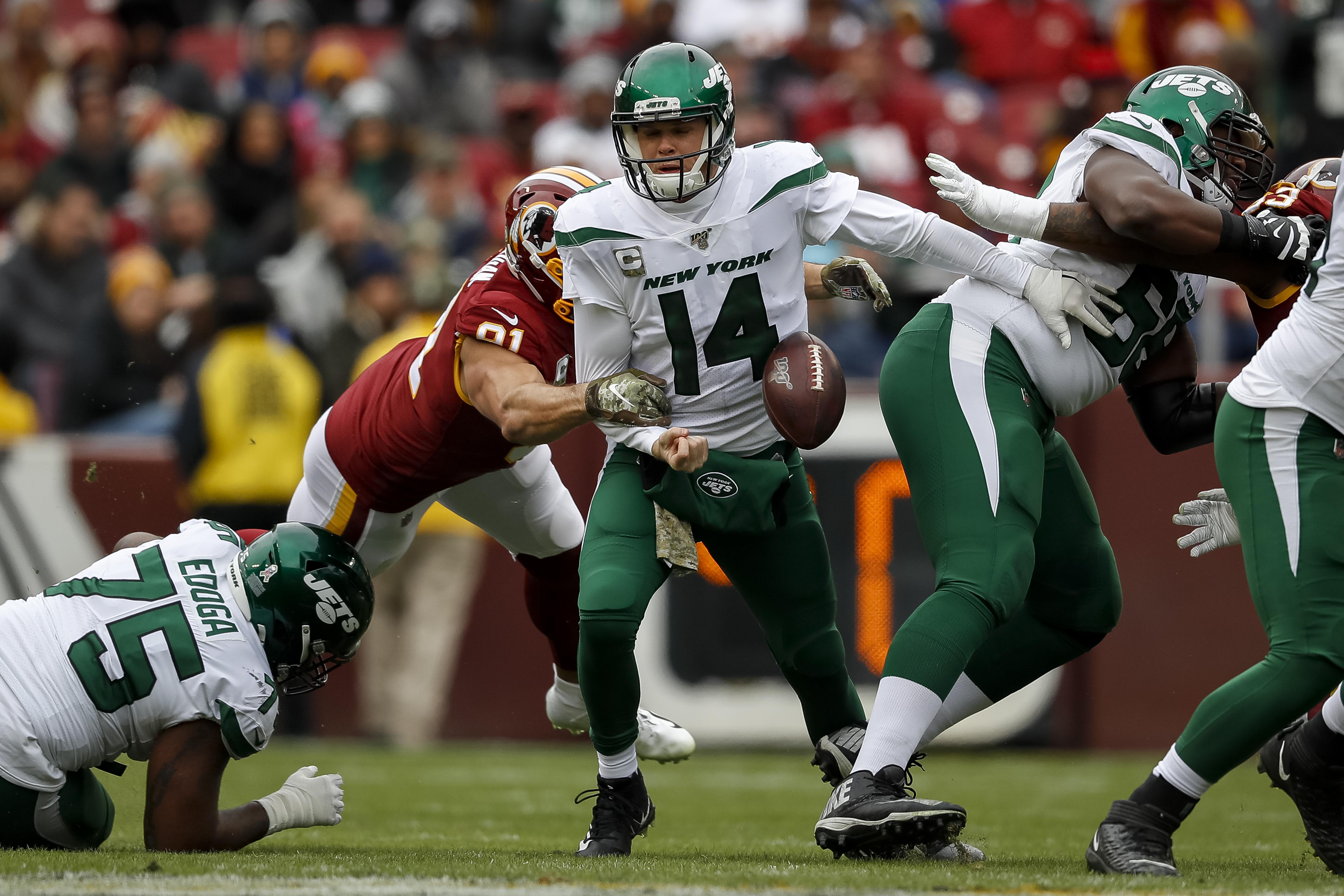 New York Jets vWashington Redskins