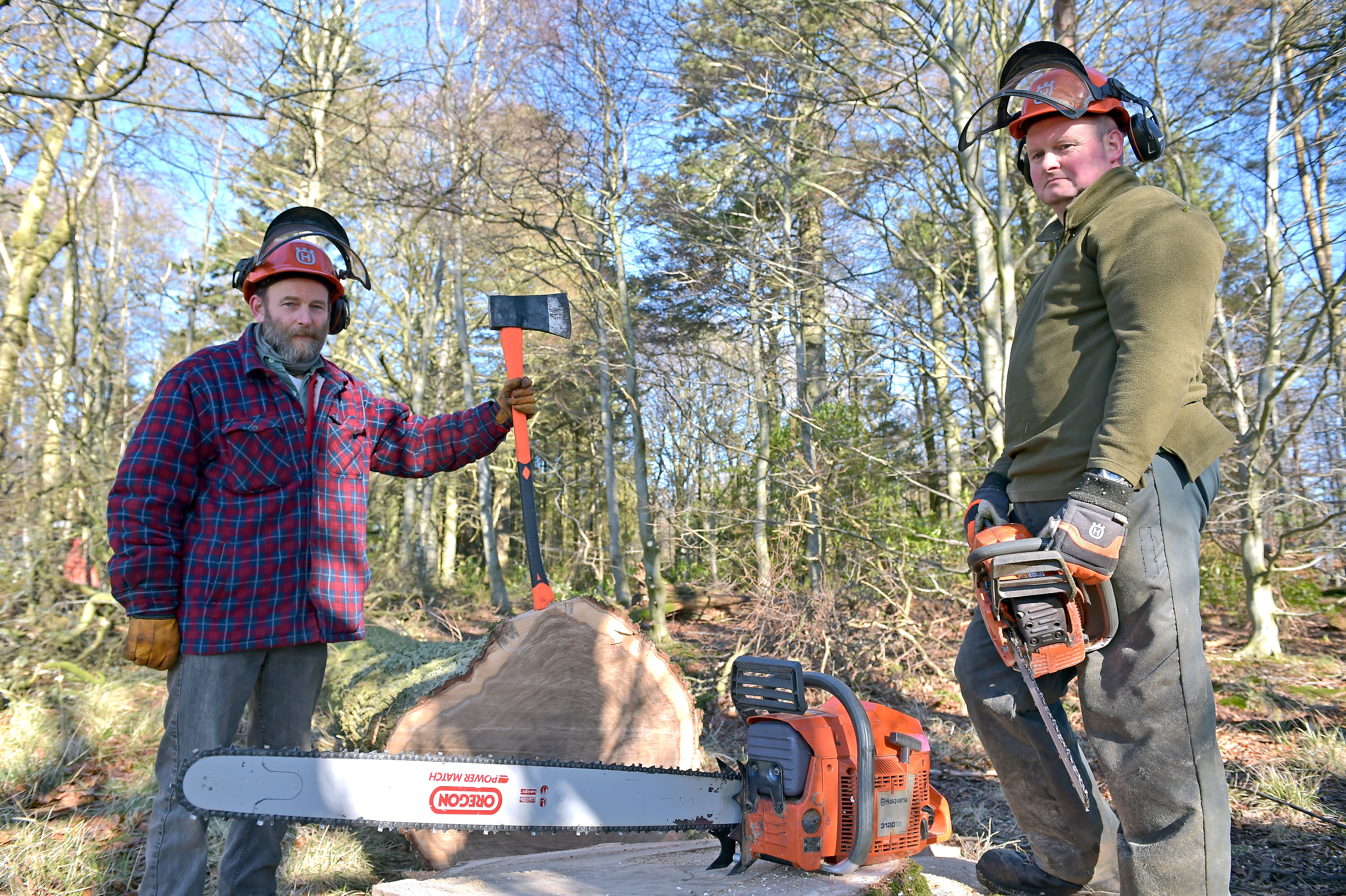 A Scottish Estate Donates Timber For The Renovation Of HMS Victory