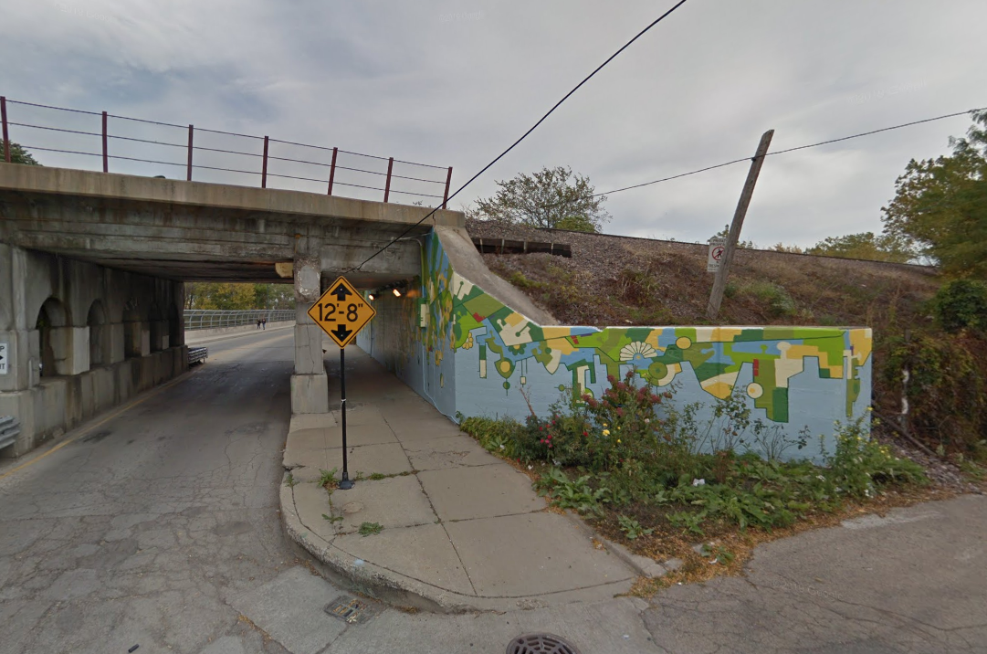 A man was found dead Nov. 21, 2019, near the Metra Union Pacific Northwest tracks near Ainslie Street and Avondale Avenue.