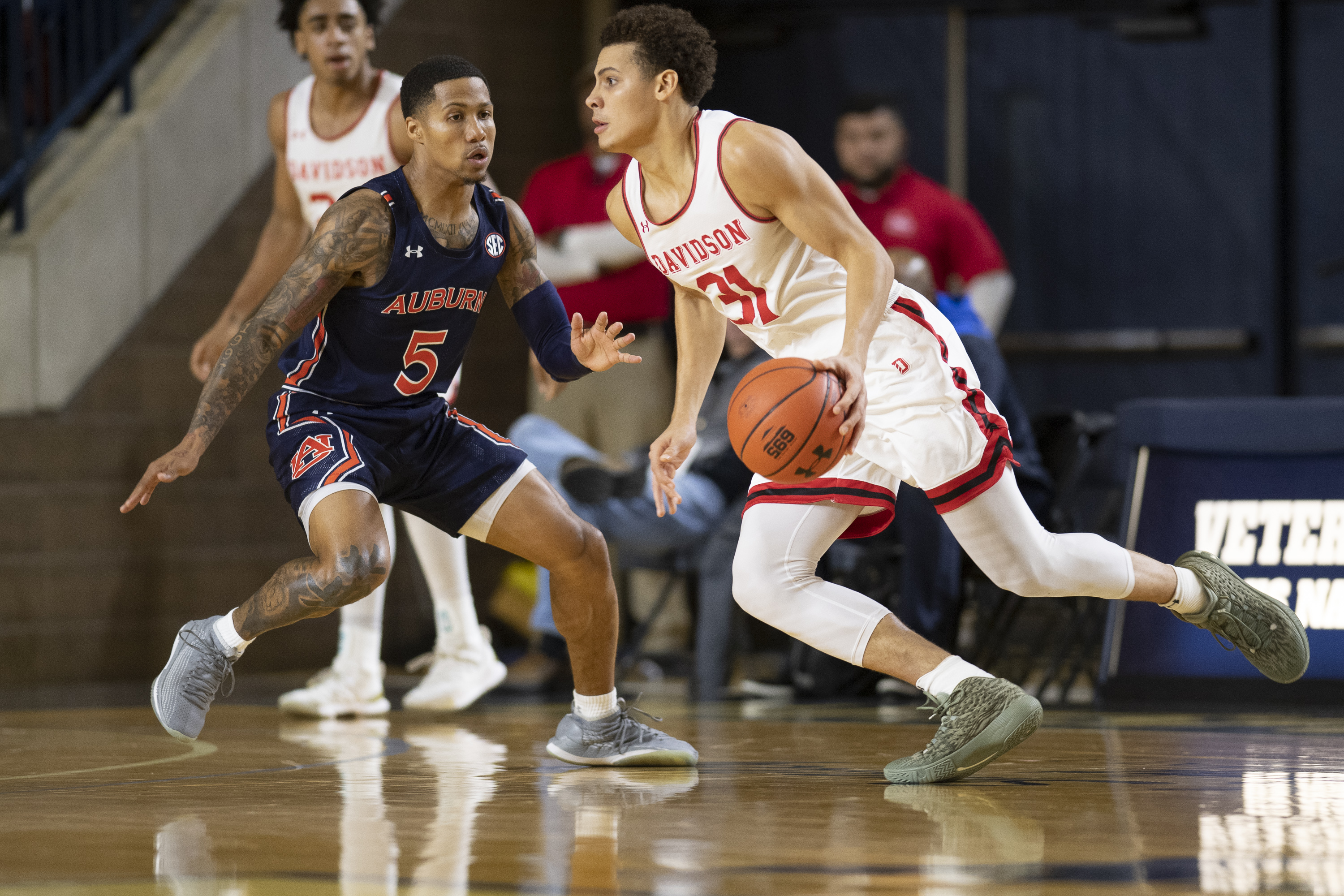 NCAA Basketball: Auburn at Davidson