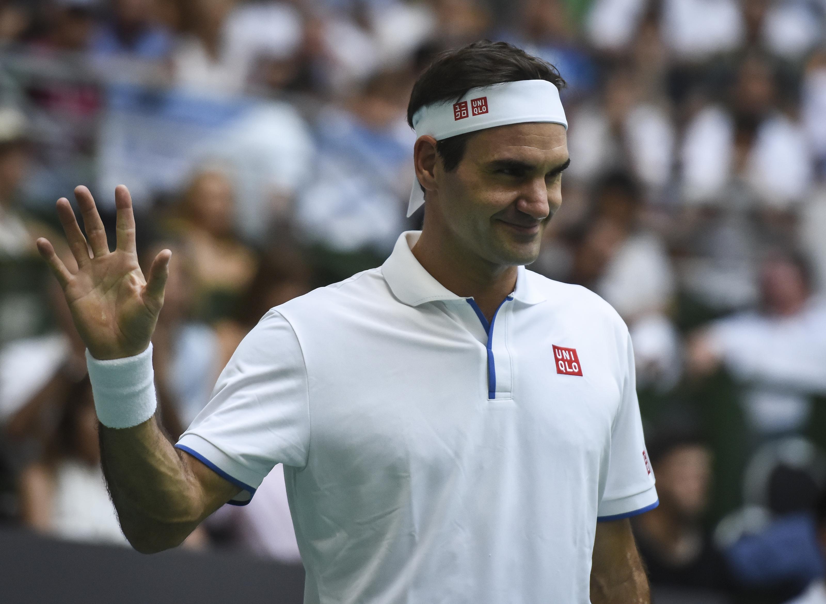Zverev v Federer - Exhibition Game