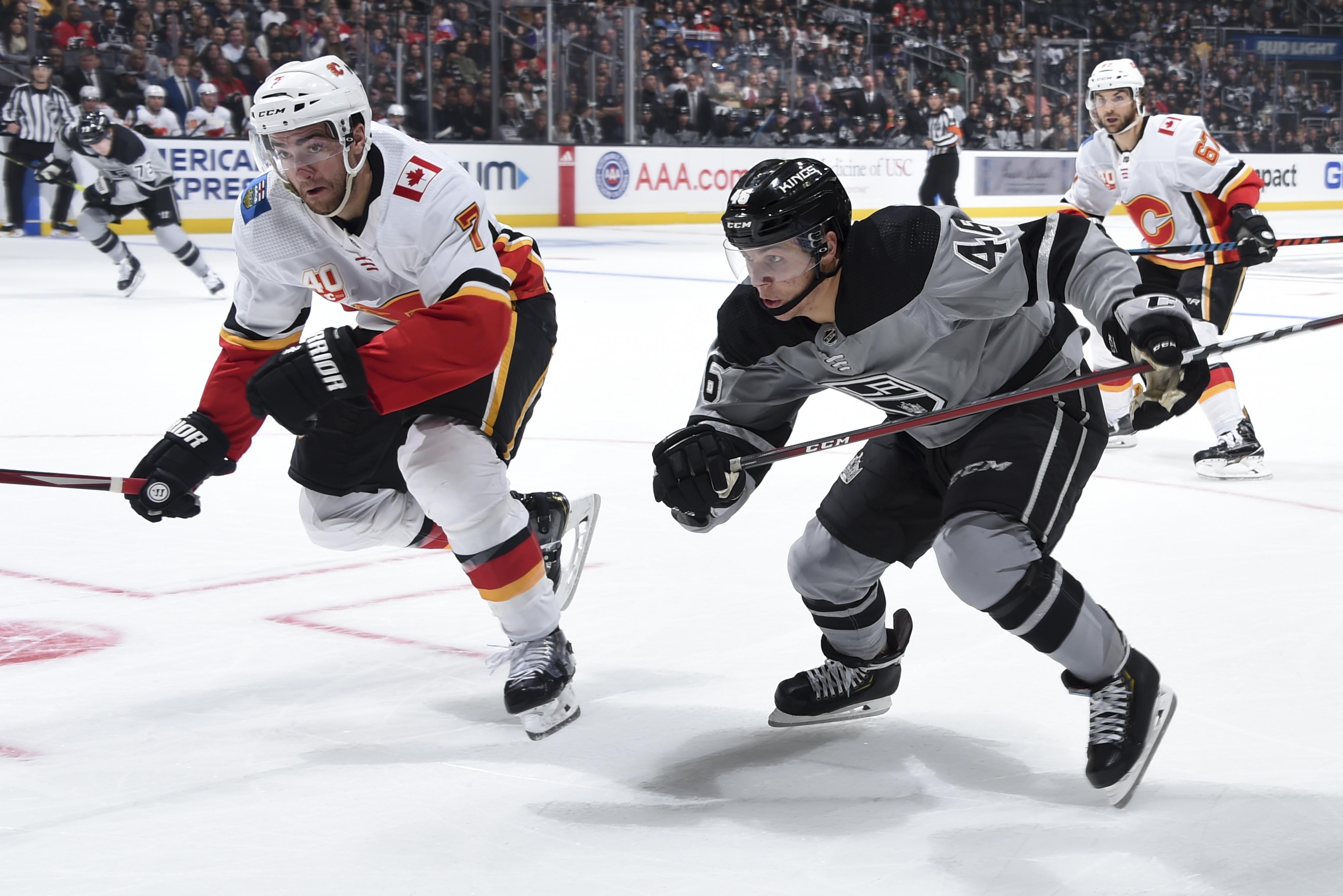 Calgary Flames v Los Angeles Kings