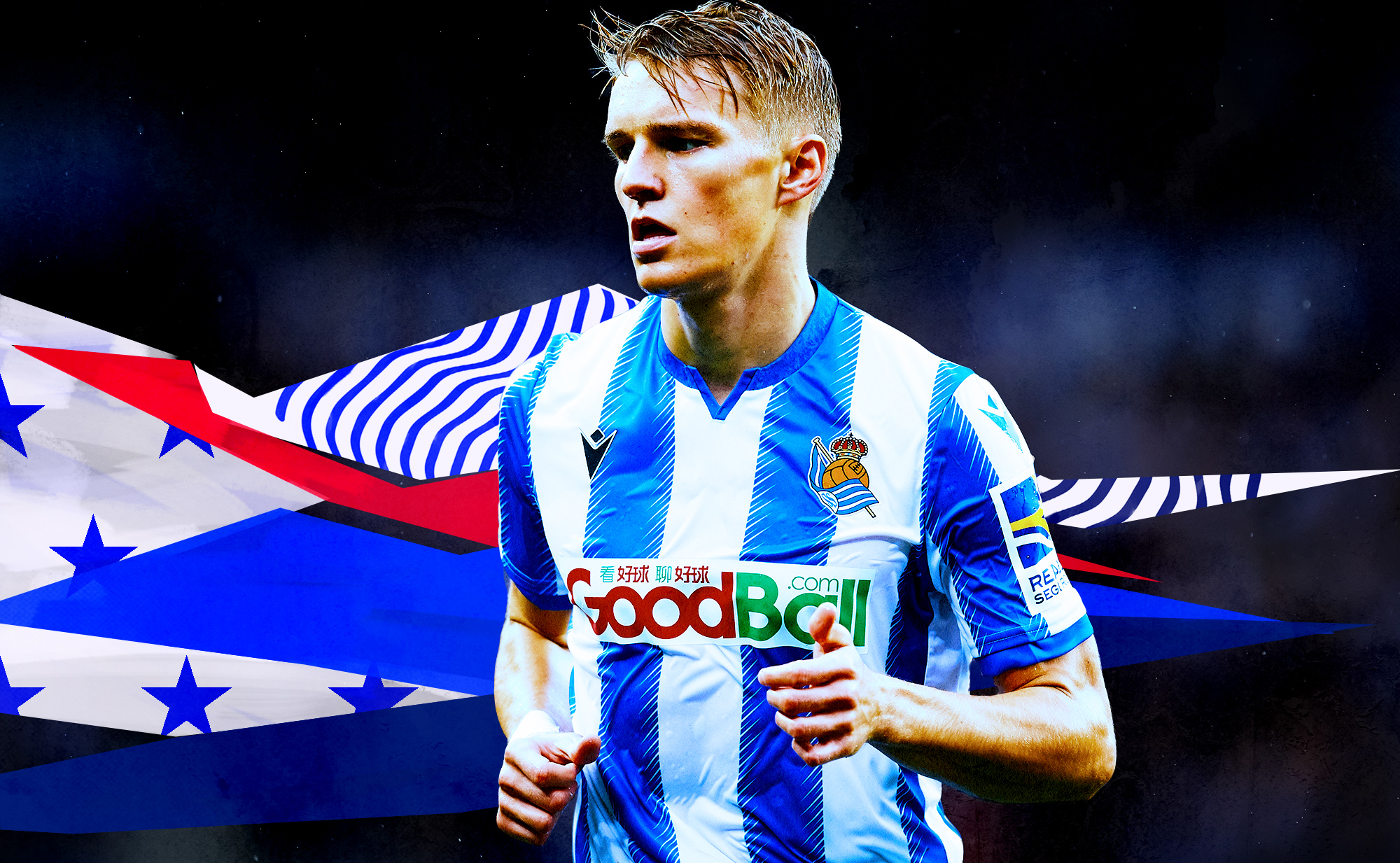 Martin Ødegaard is right on track to become Real Madrid's next Luka Modric