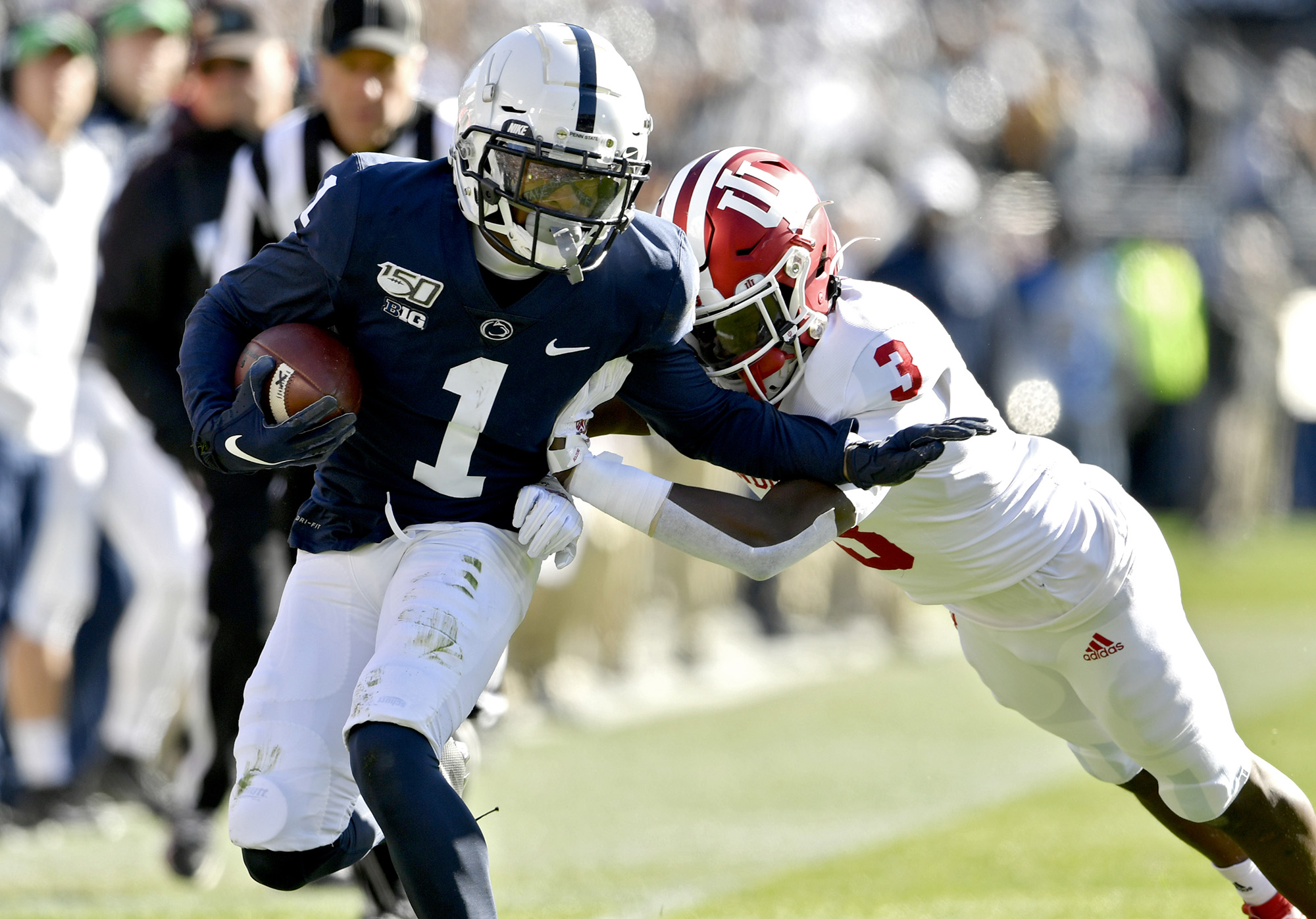 Indiana at Penn State