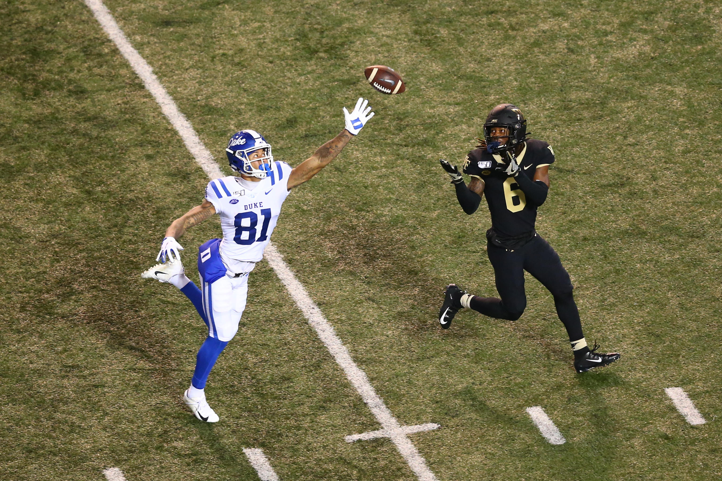 NCAA Football: Duke at Wake Forest