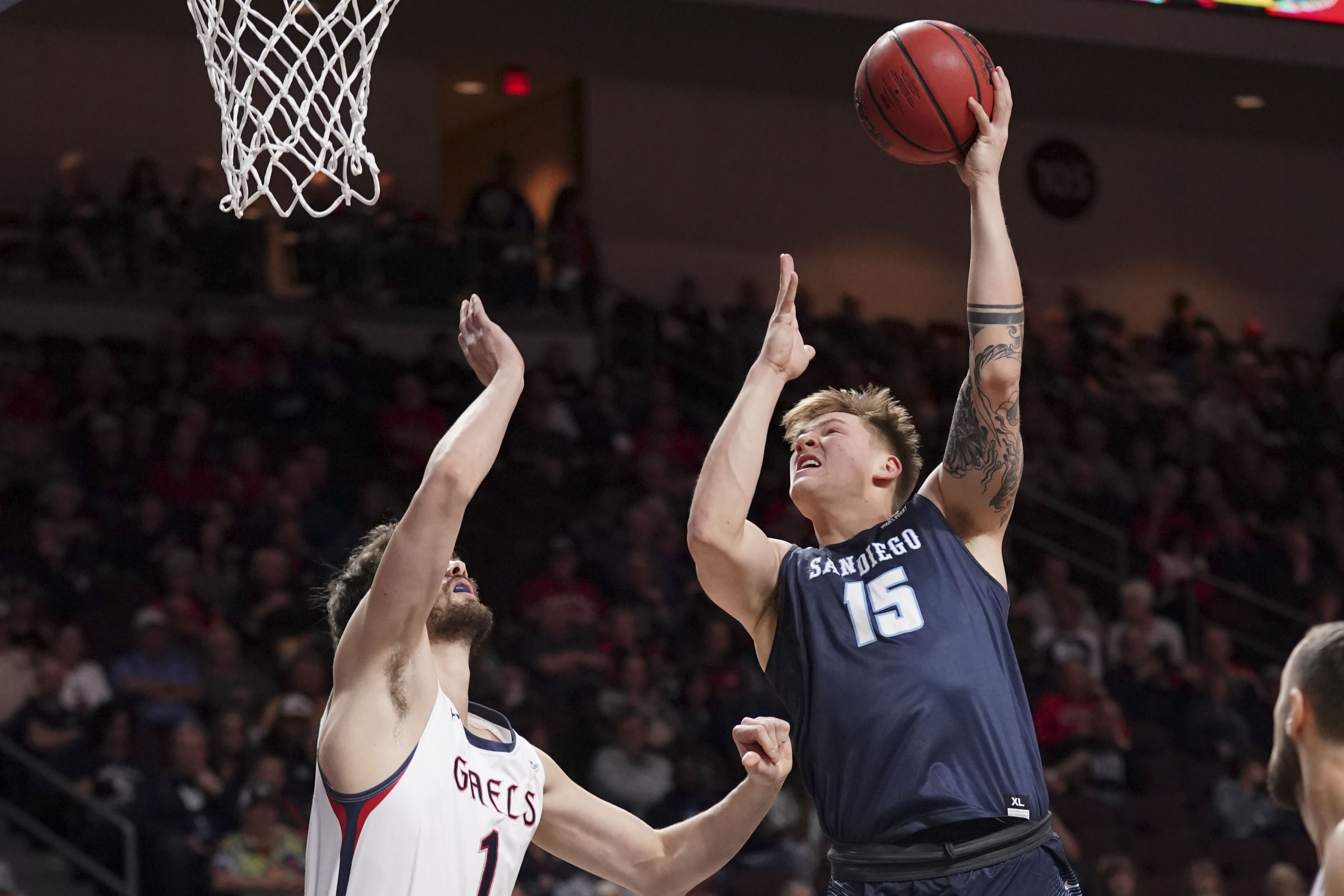 NCAA Basketball: West Coast Conference Tournament-Saint Mary's vs San Diego