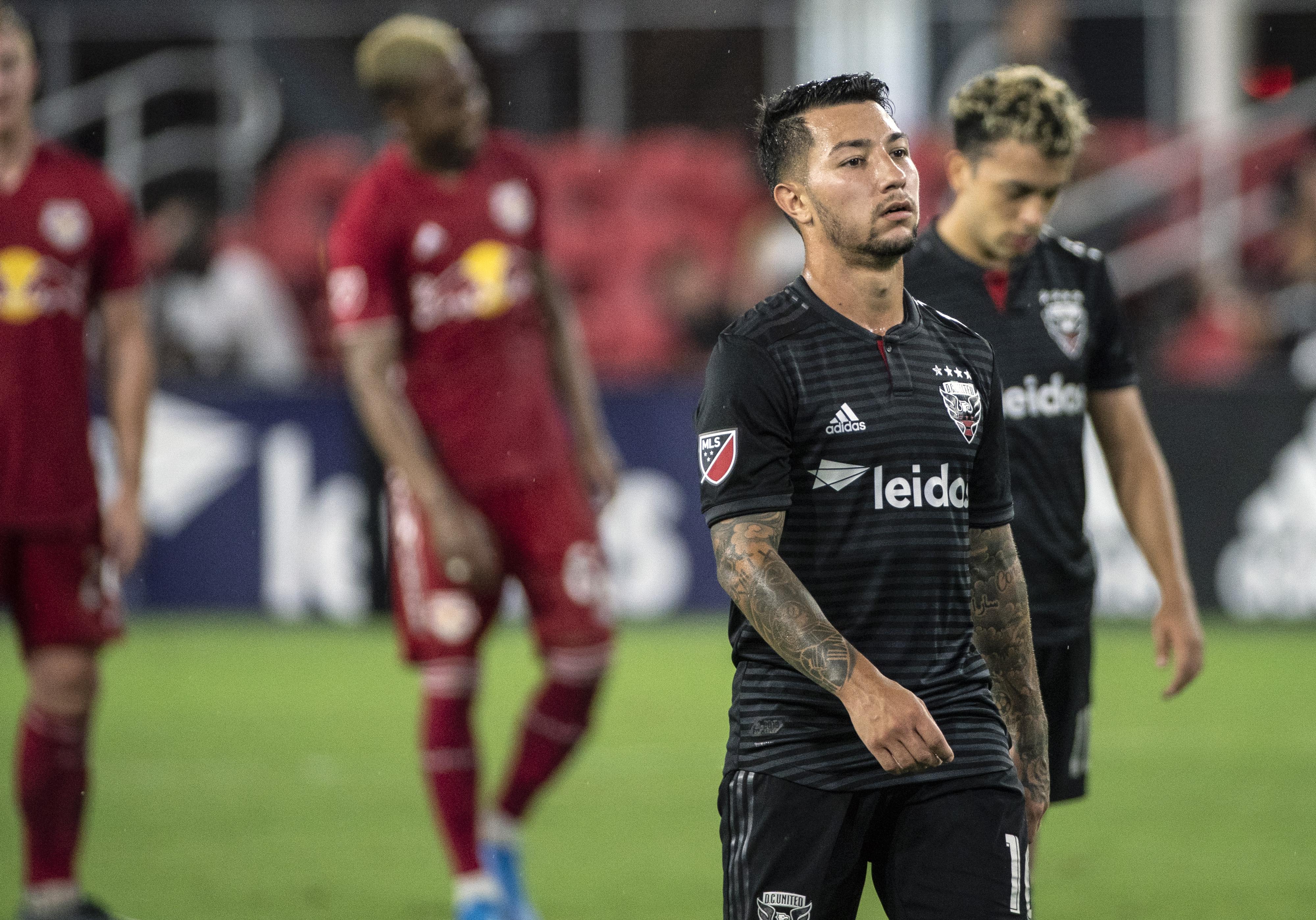 SOCCER: AUG 21 MLS - New York Red Bulls at DC United