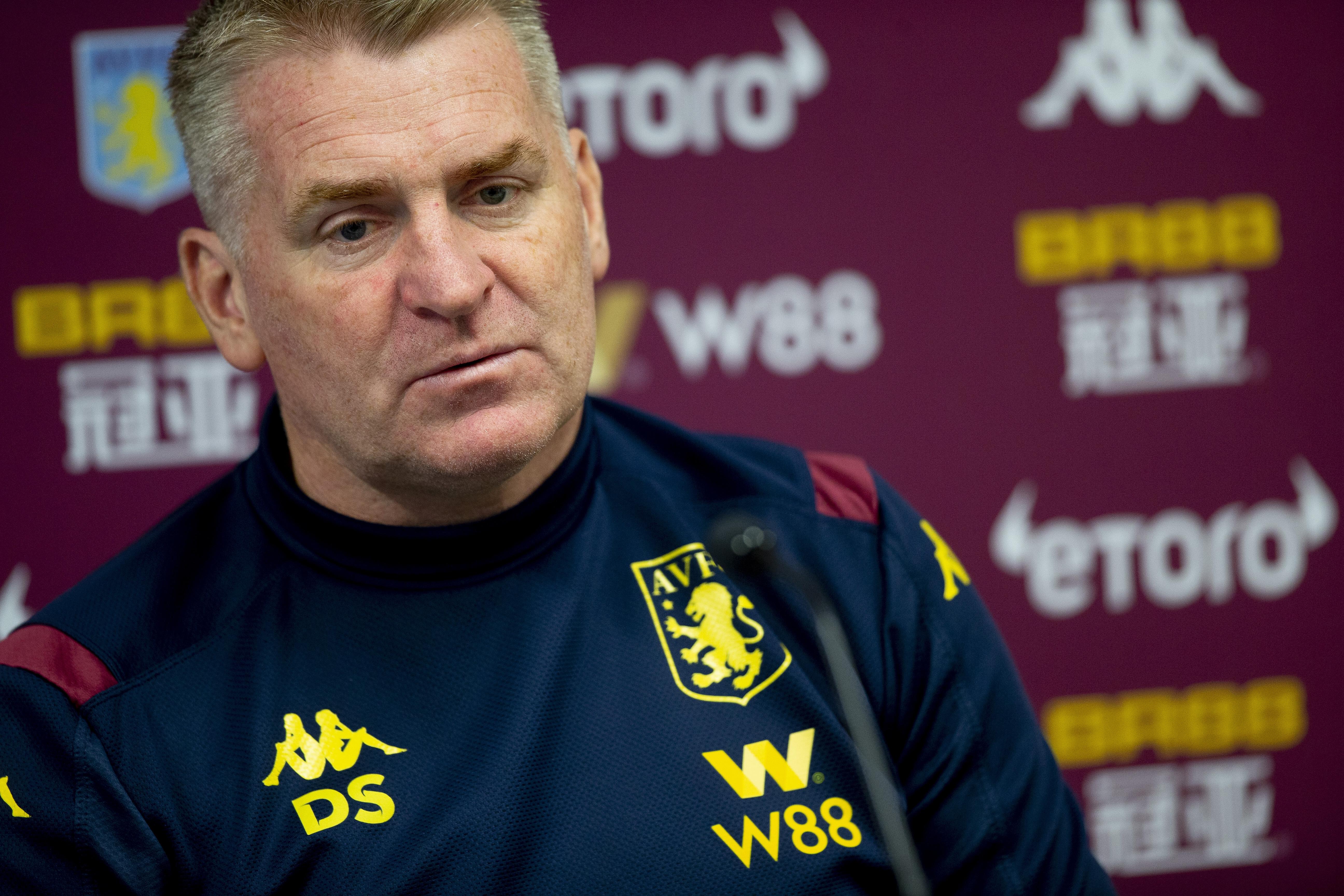 Aston Villa Training and Press Conference