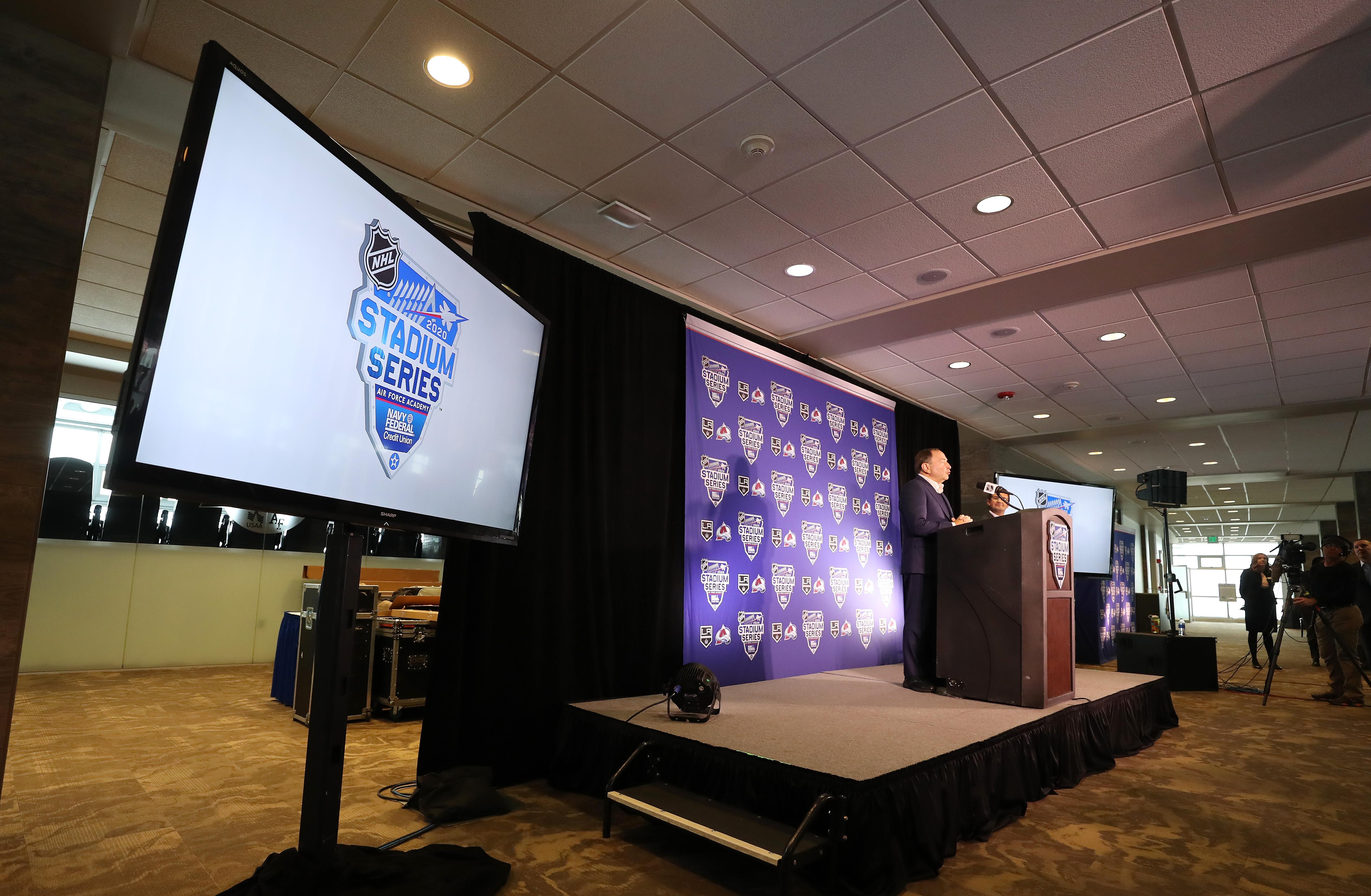 2020 NHL Stadium Series Press Conference