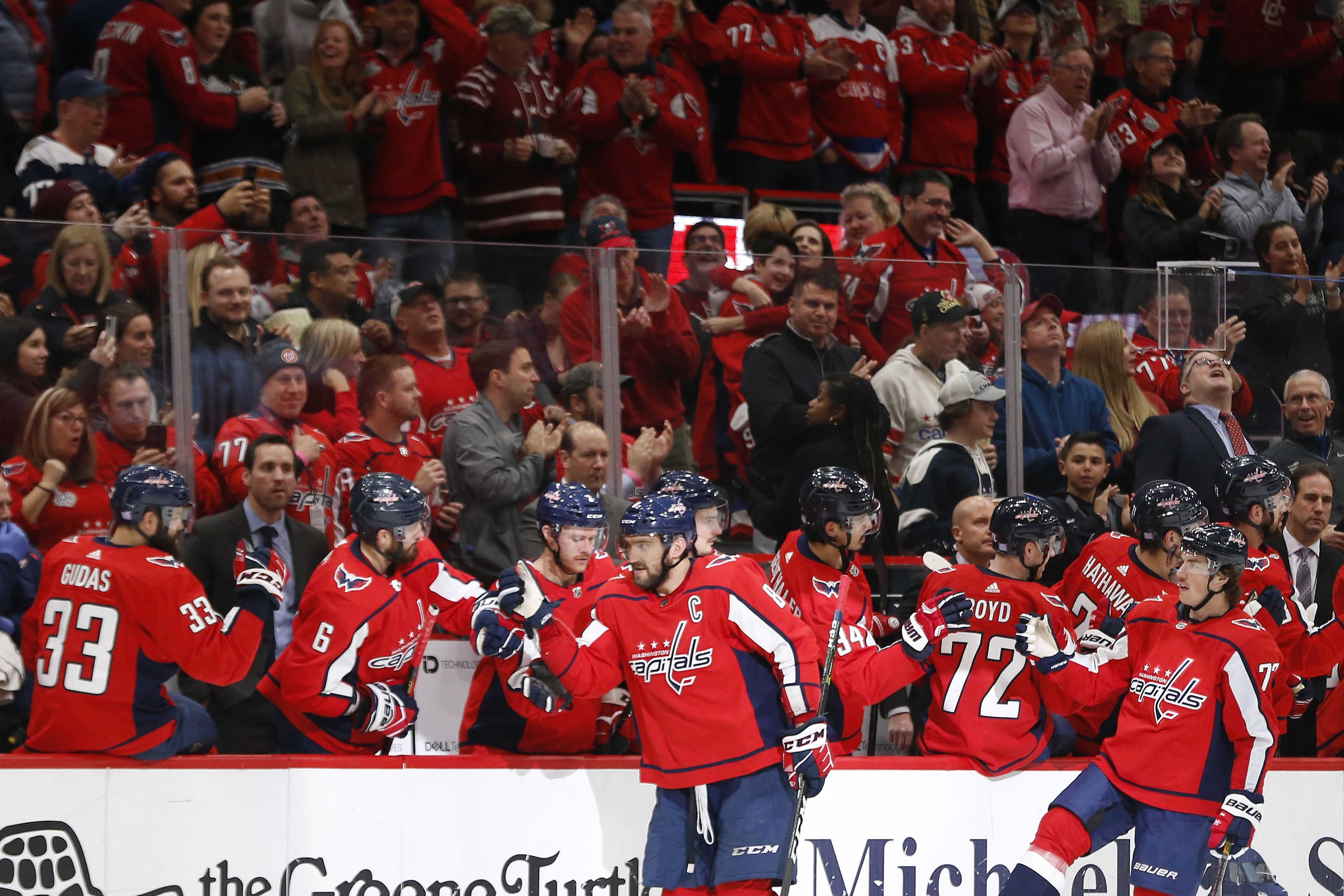 NHL: Anaheim Ducks at Washington Capitals
