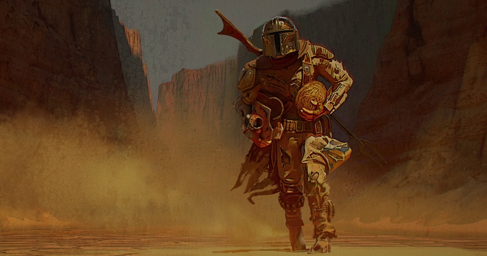 The Mandalorian is basically a video game