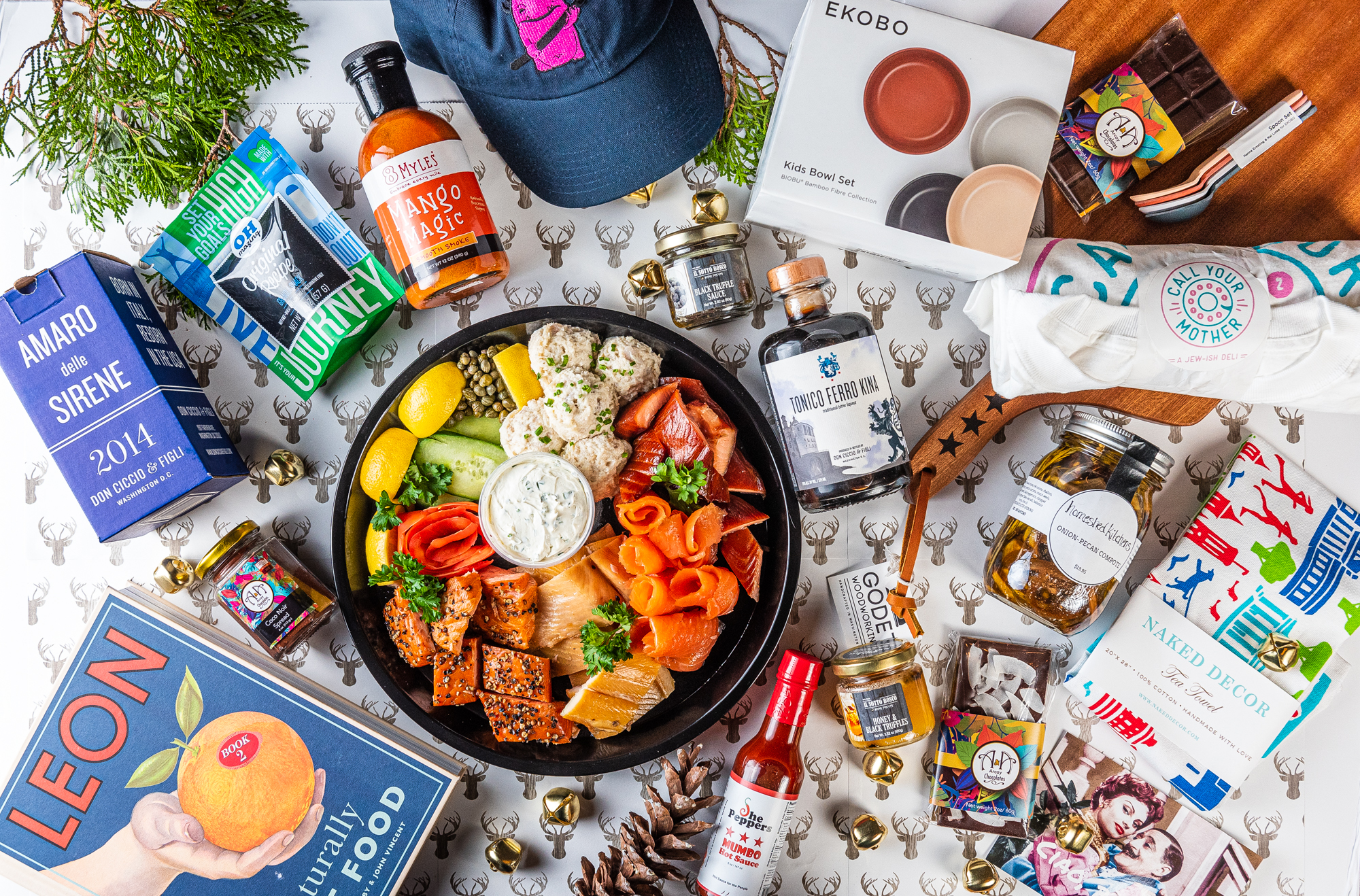 Eater DC's gift guide spread