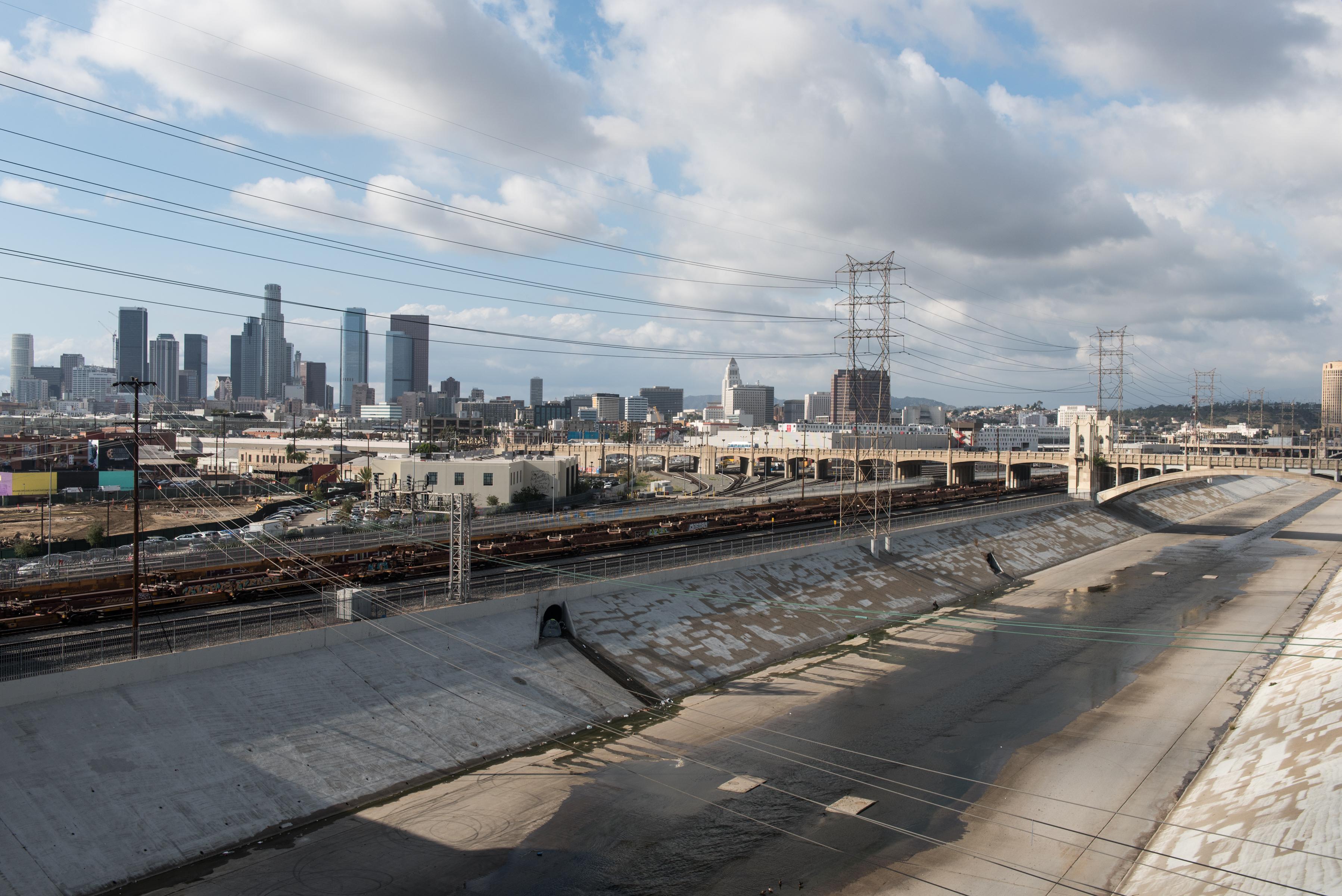 View of LA River