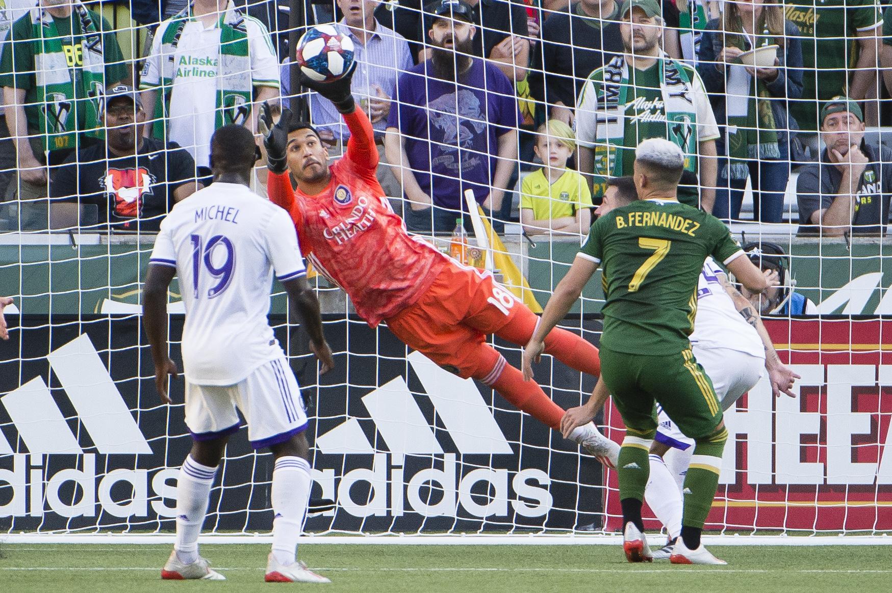 MLS: Orlando City SC at Portland Timbers