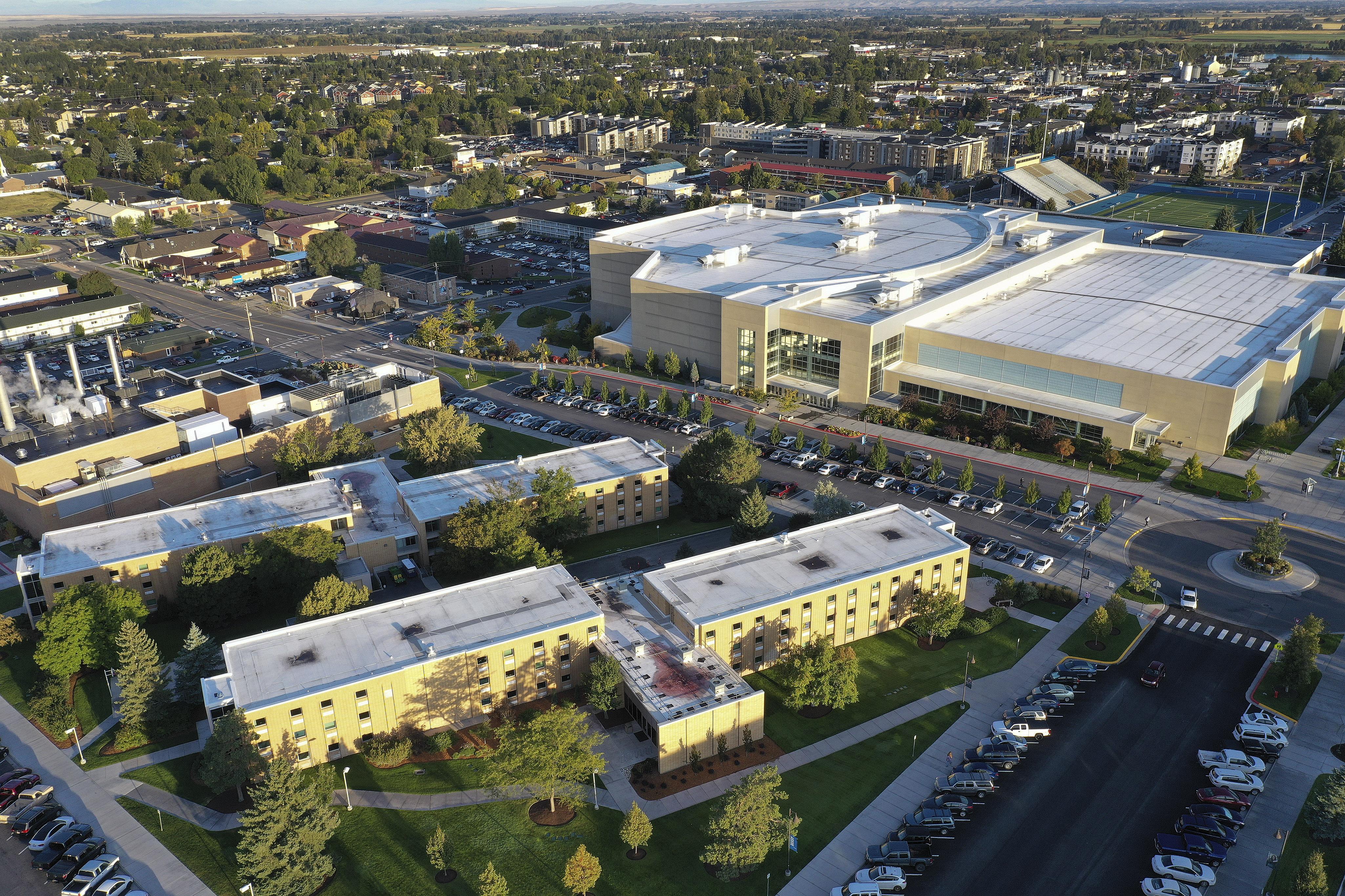 FILE - BYU Idaho campus in Rexburg, Idaho.