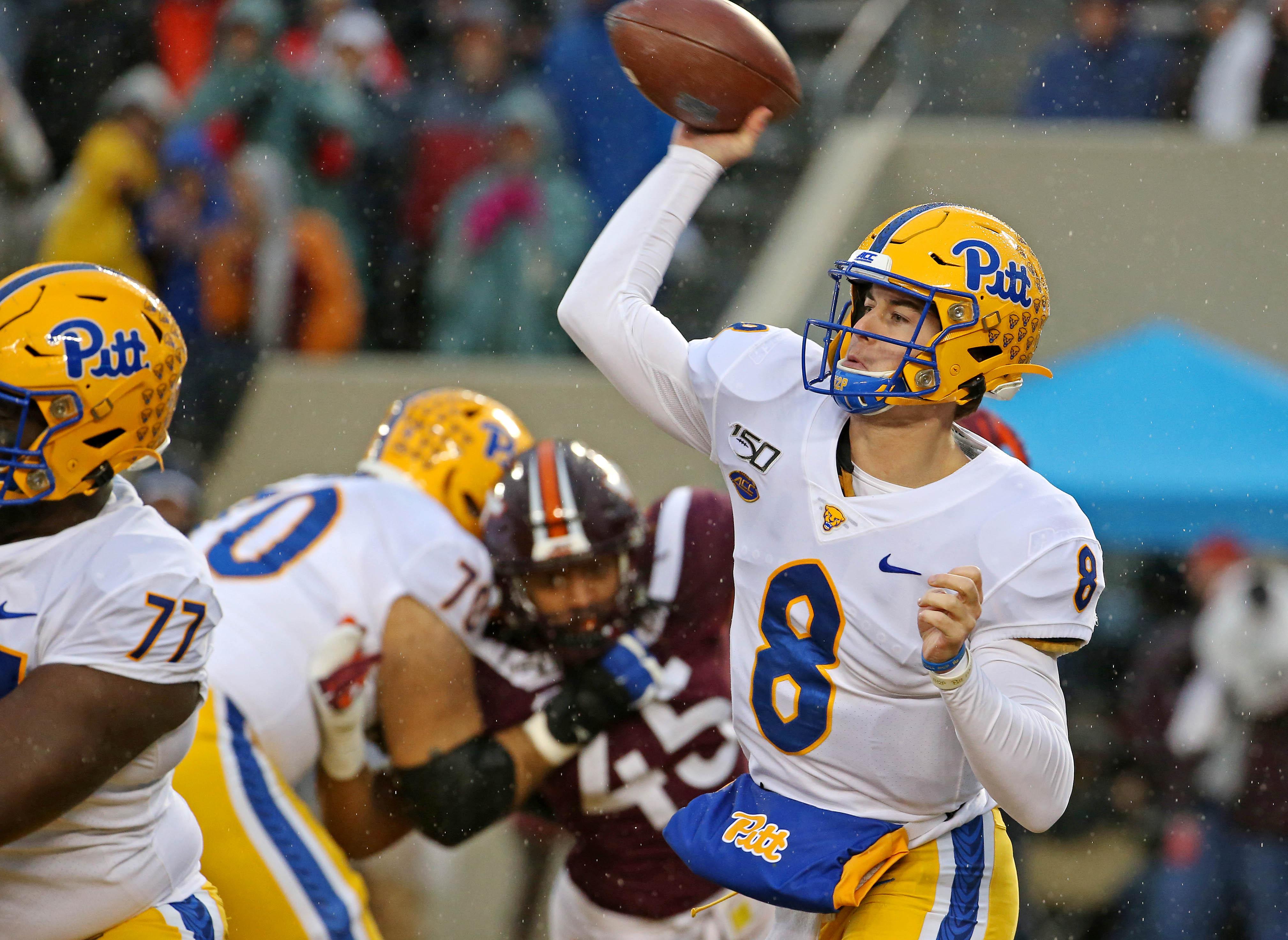 NCAA Football: Pittsburgh at Virginia Tech