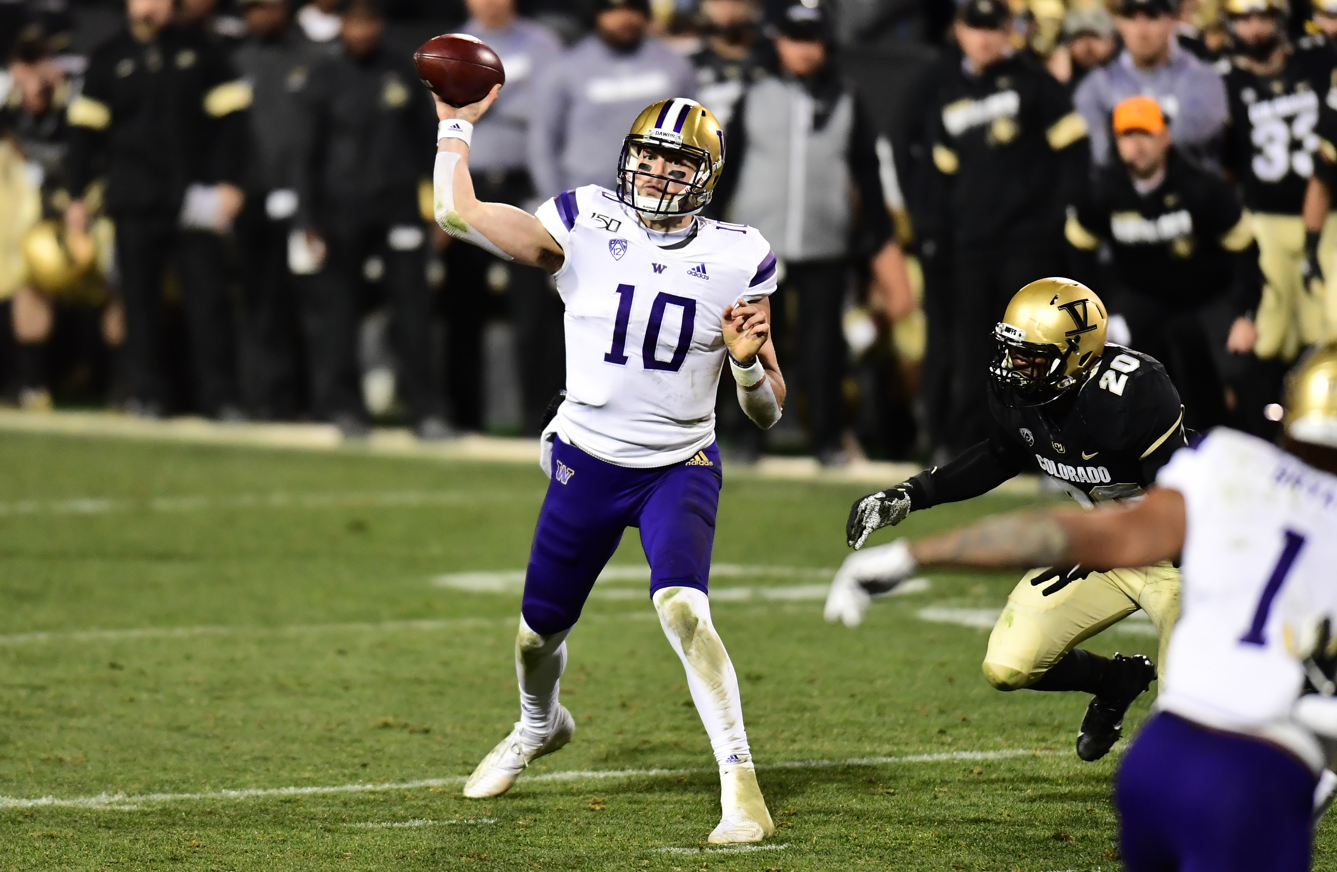 NCAA Football: Washington at Colorado