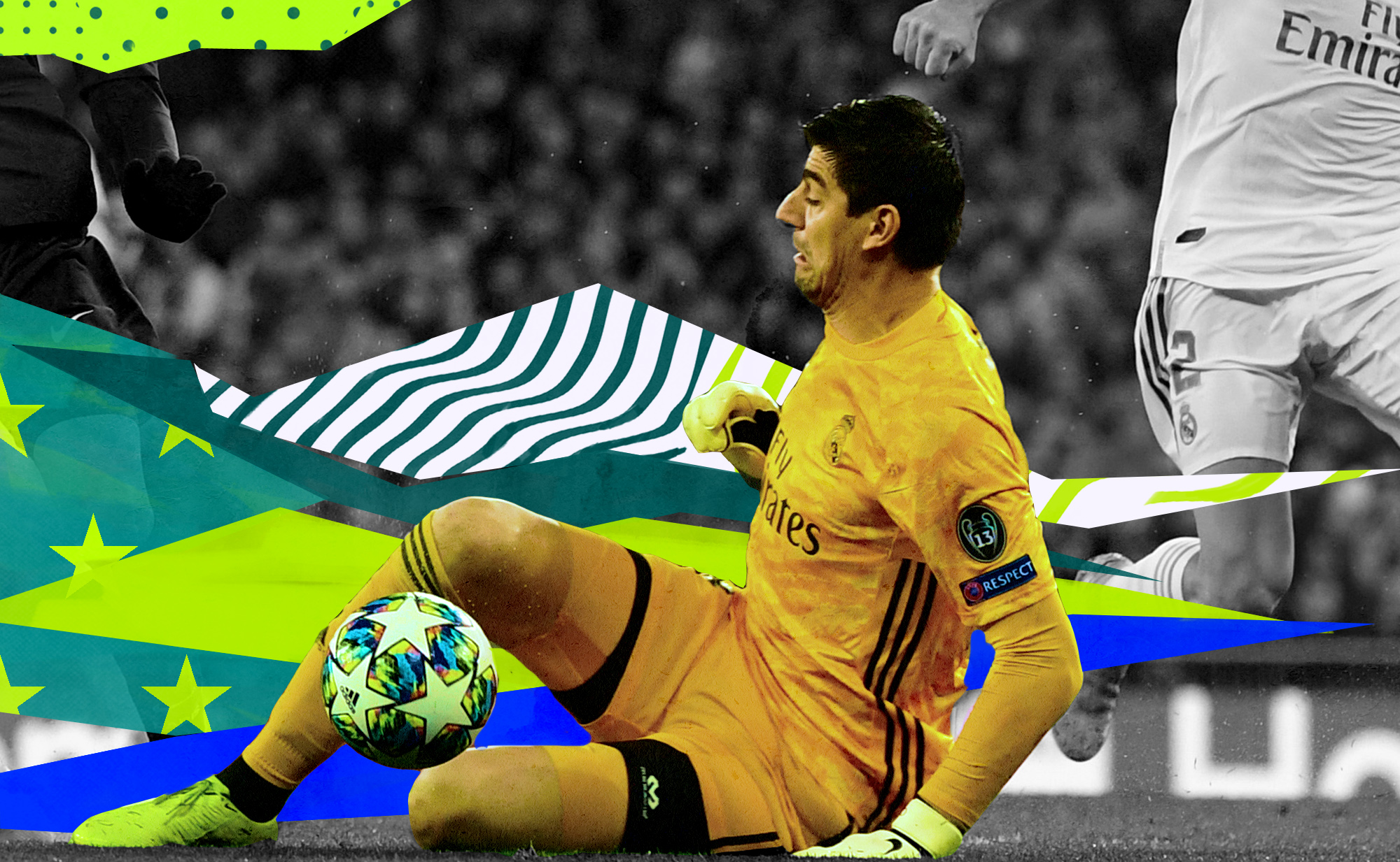 Thibaut Courtois' struggles are an embodiment of Real Madrid's hubris