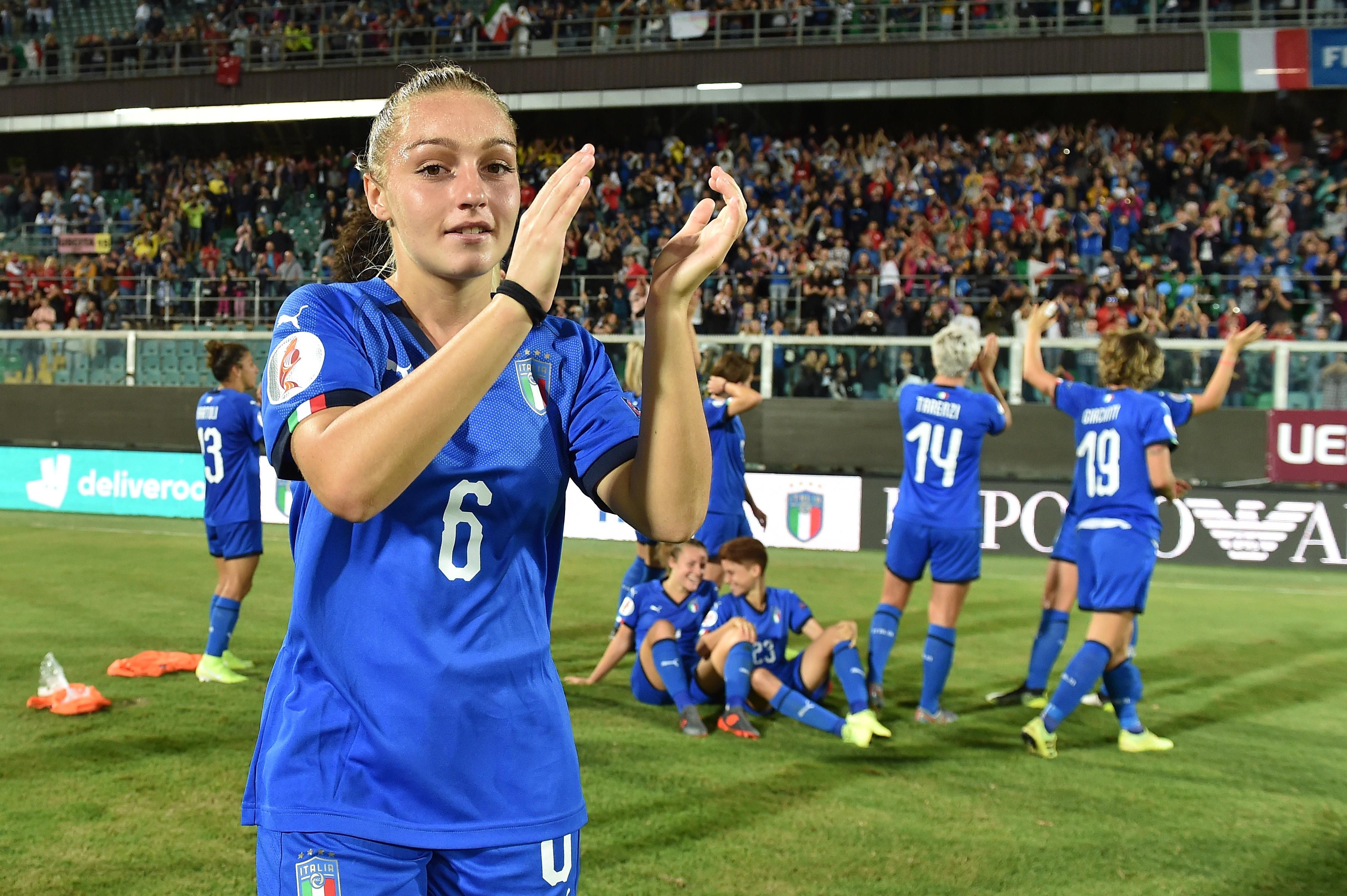 Italy v Bosnia and Herzegovina - UEFA Women's European Championship 2021 Qualifier