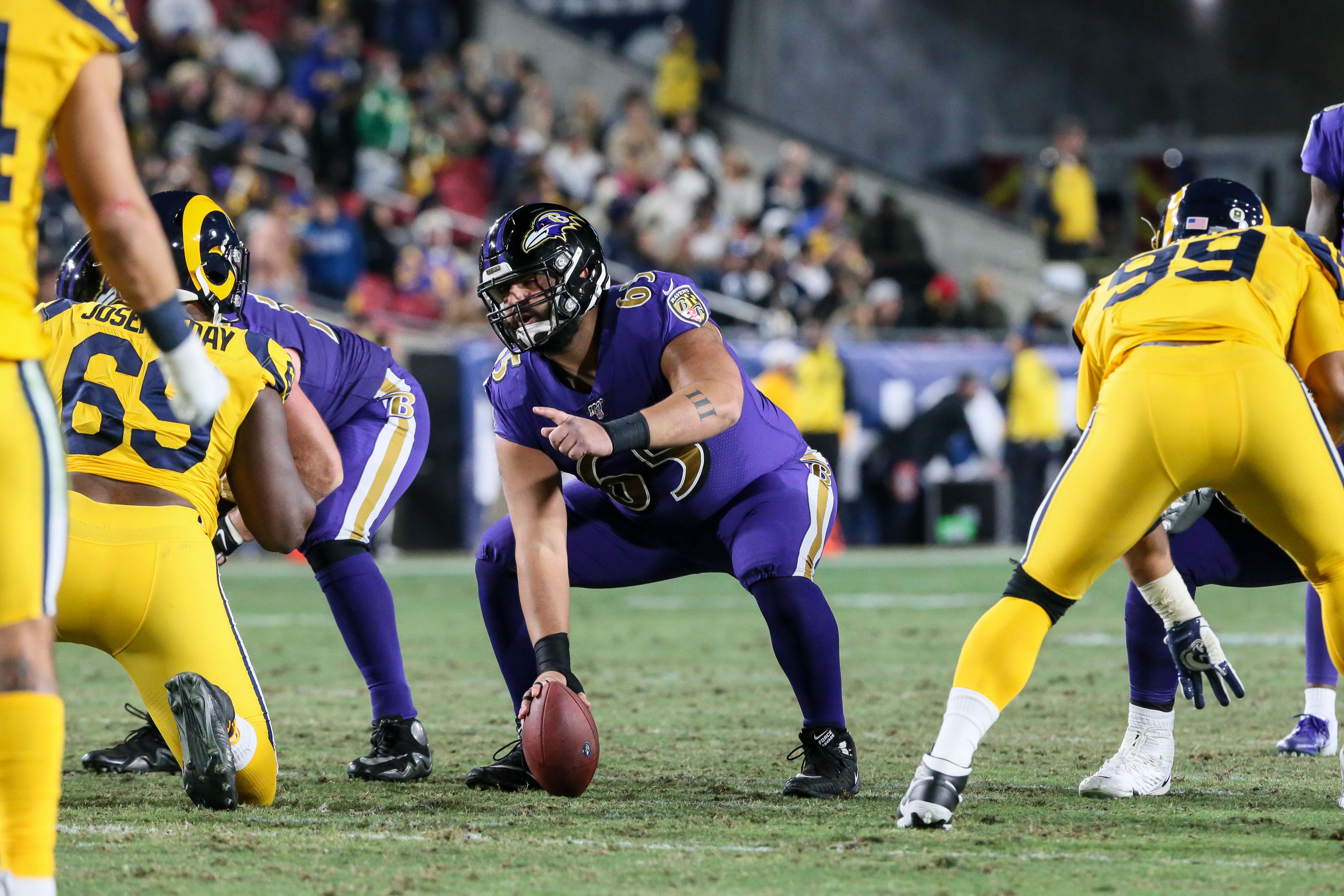 NFL: NOV 25 Ravens at Rams