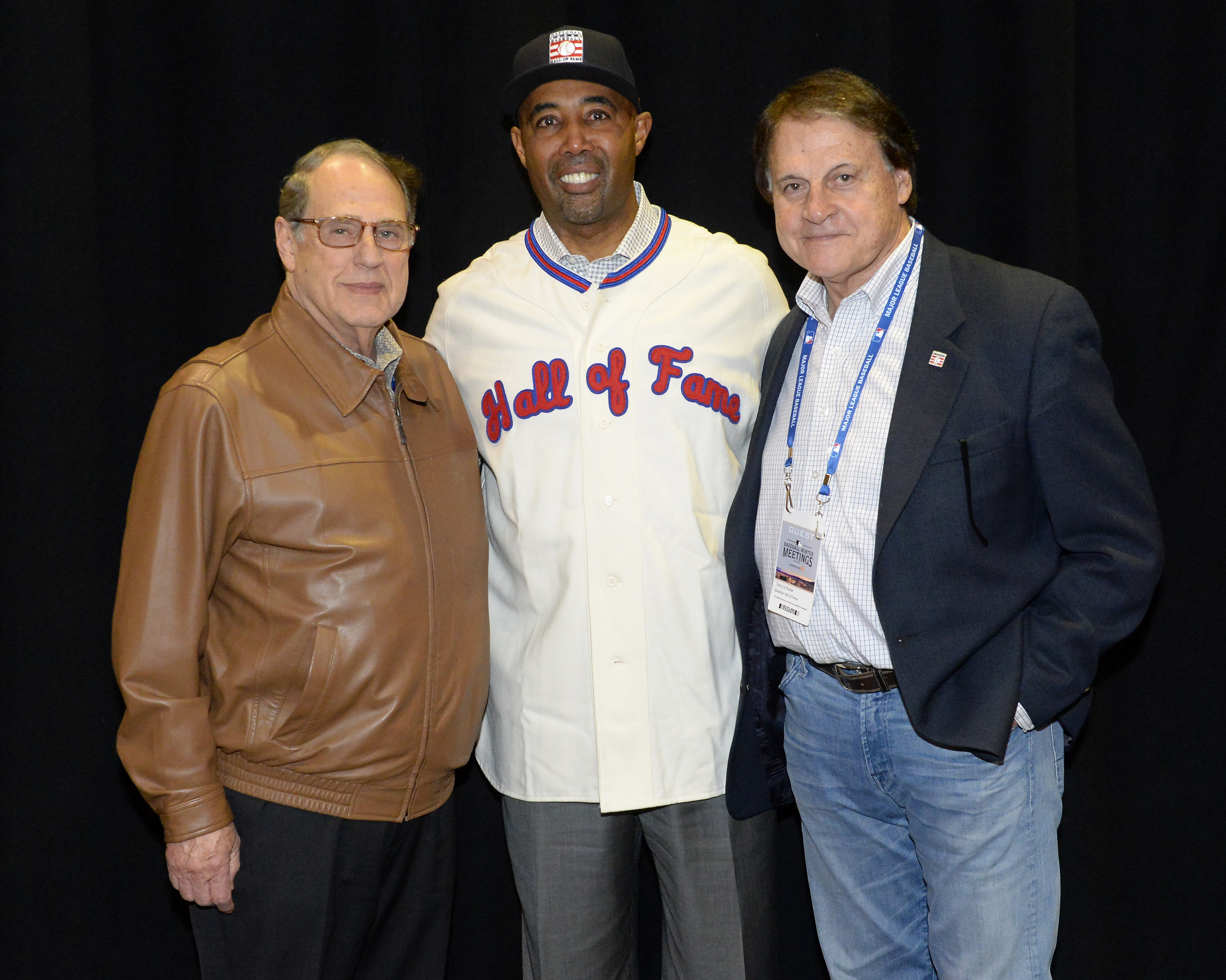 Harold Baines Hall of Fame Press Conference