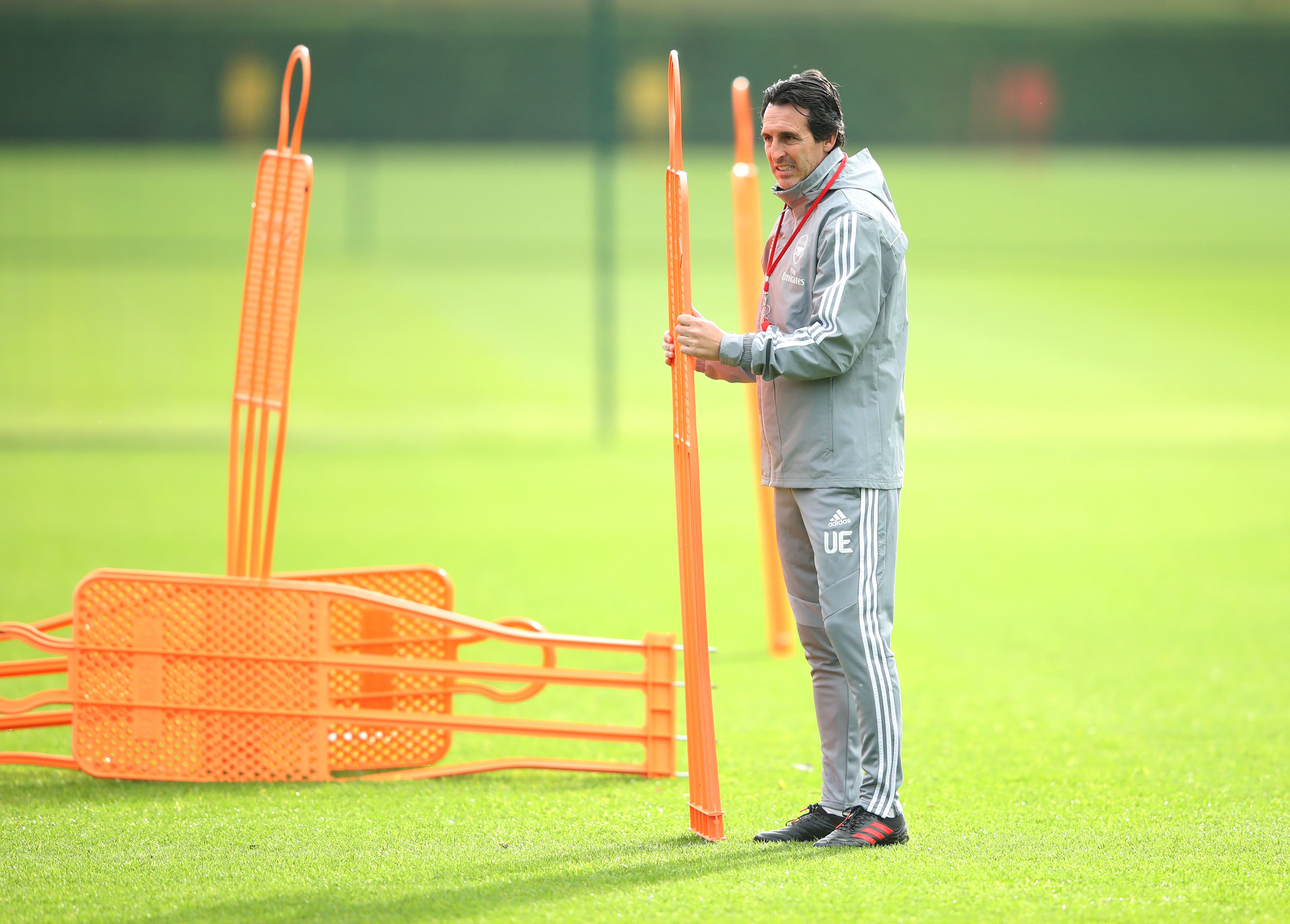 Arsenal Training & Press Conference