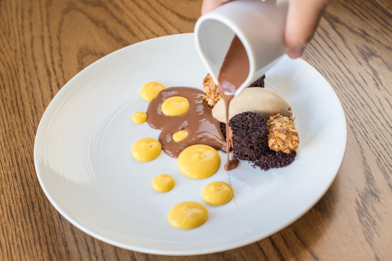 Bolivian Chocolate Cake at Compere Lapin