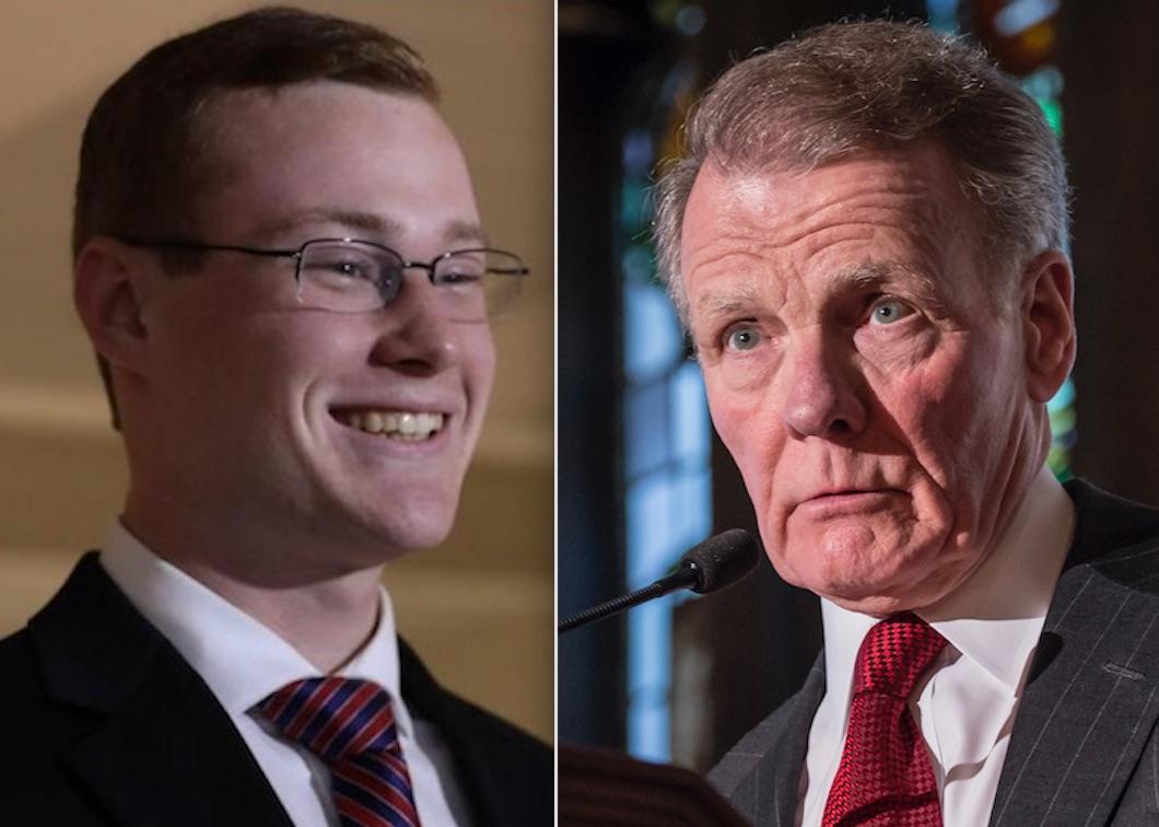 David Krupa, left; House Speaker Mike Madigan, right. File Photos.