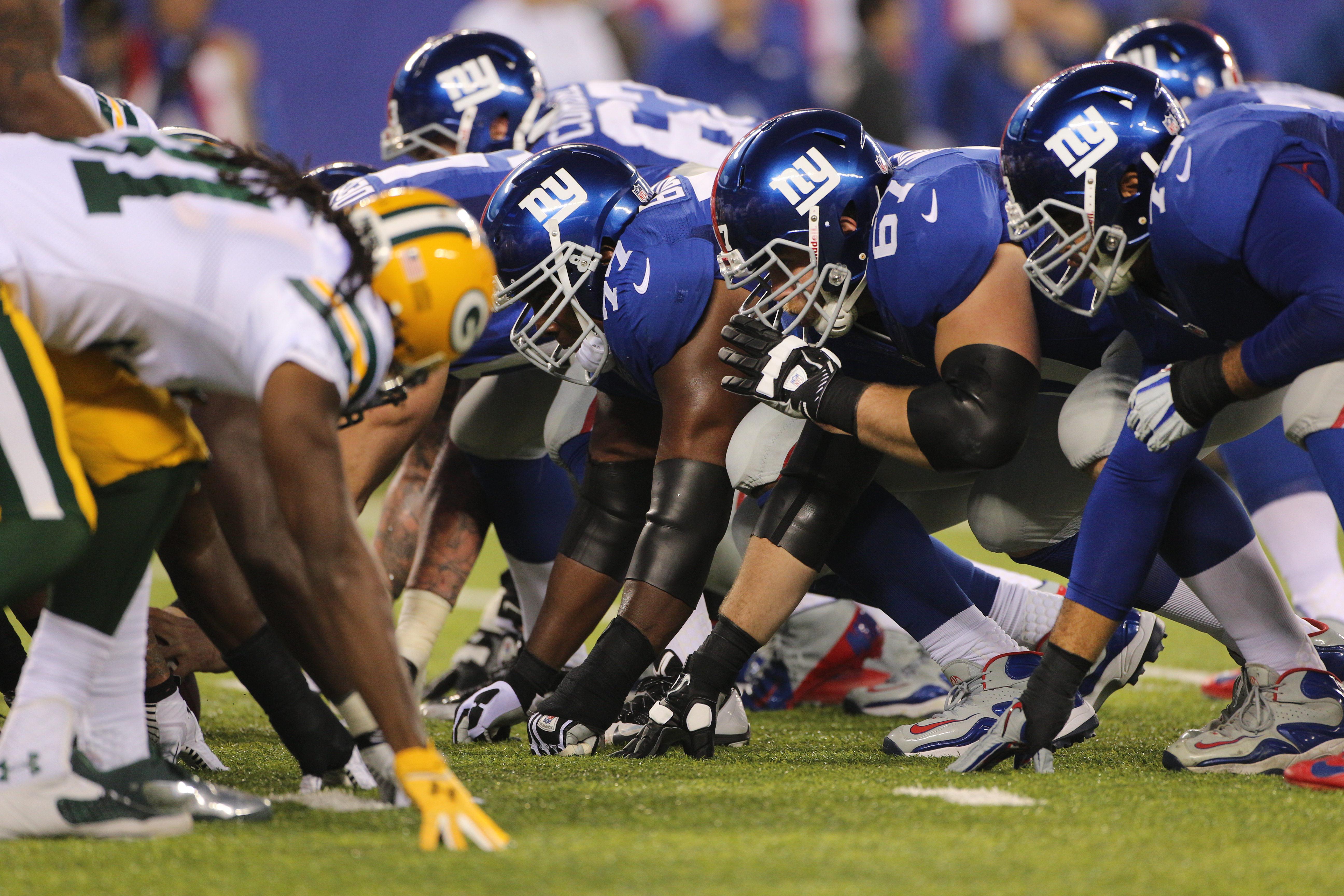 New York Giants Vs Green Bay Packers NFL