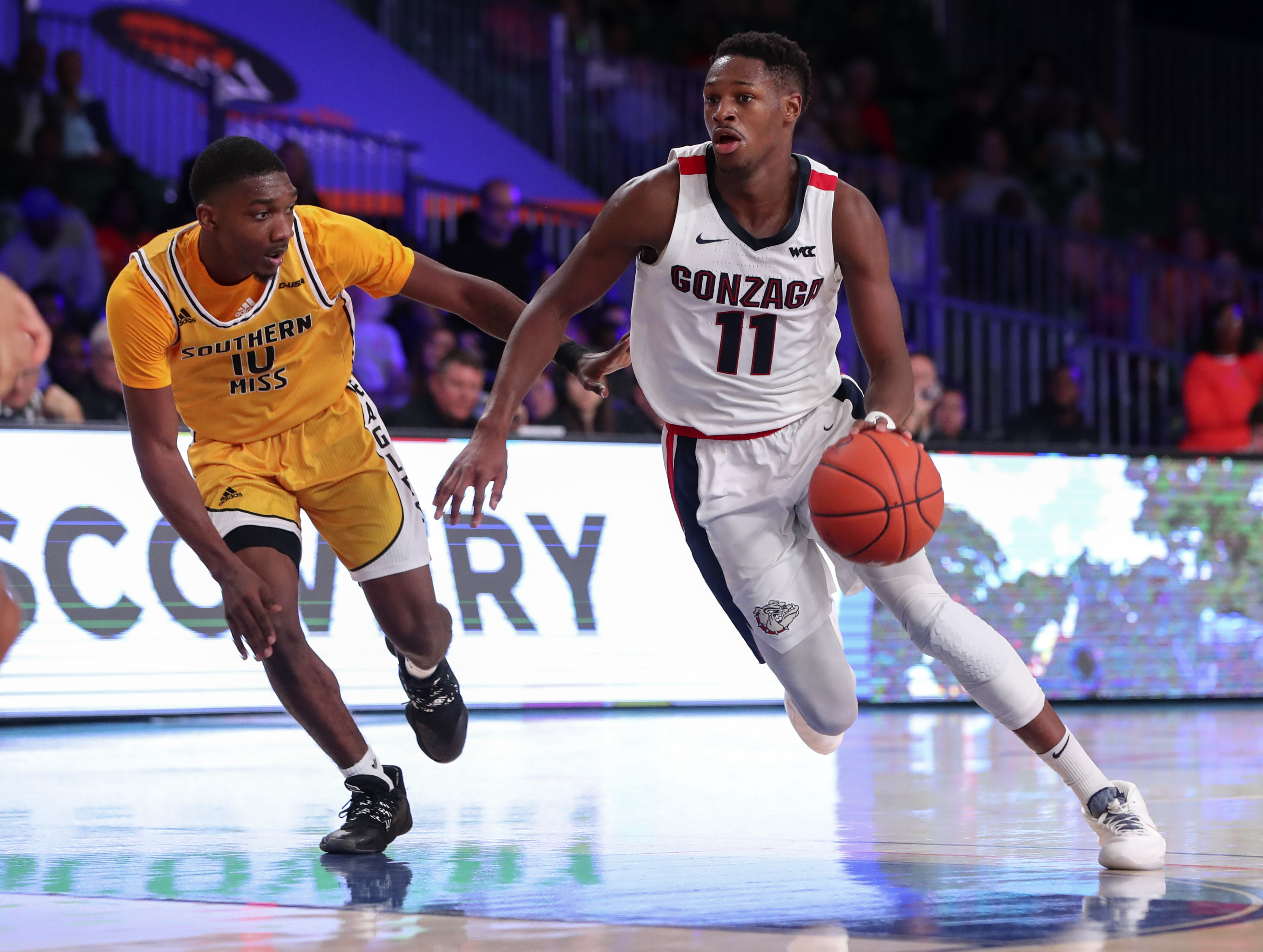 NCAA Basketball: Battle 4 Atlantis-Gonzaga at Southern Mississippi