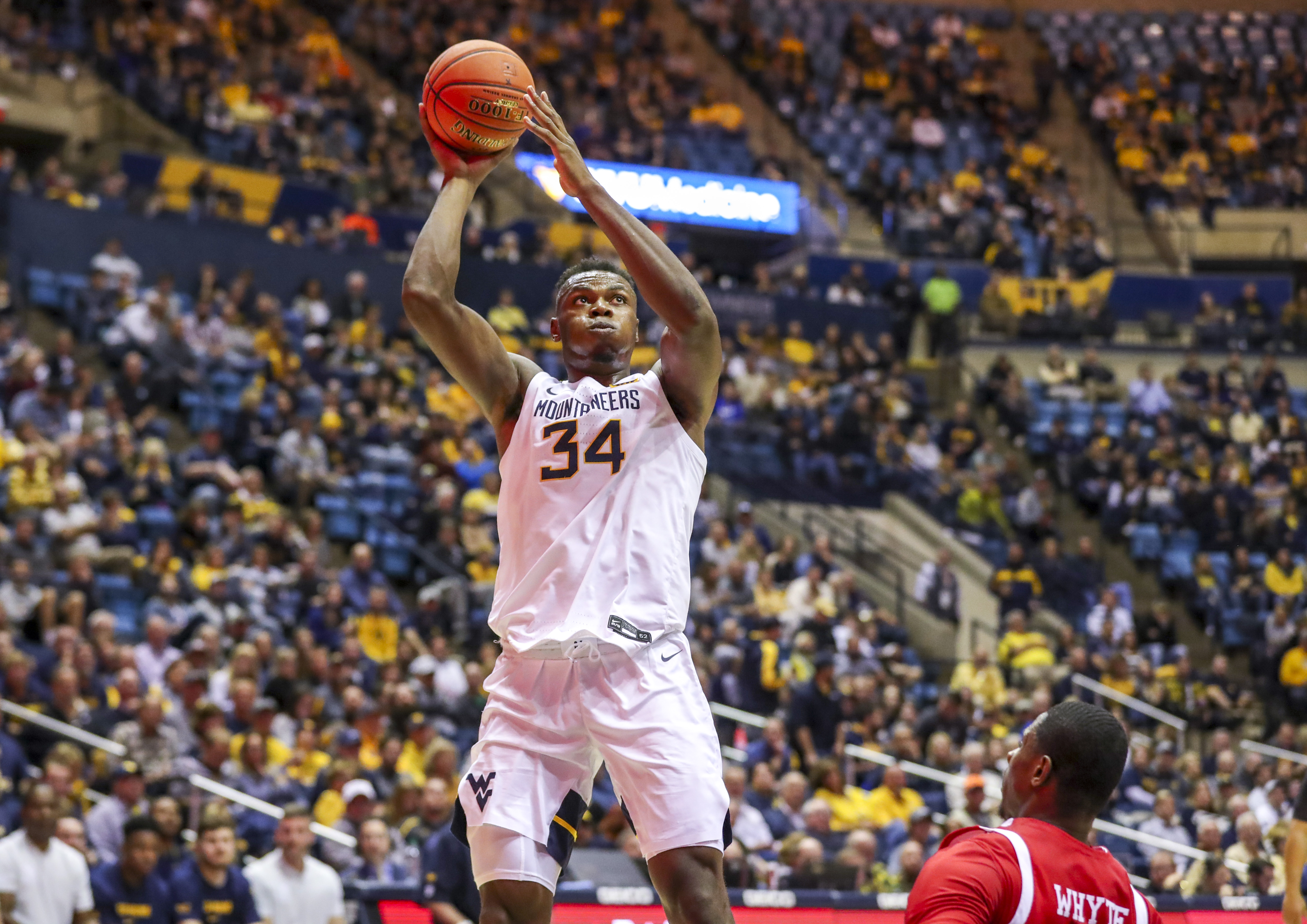 NCAA Basketball: Boston U at West Virginia