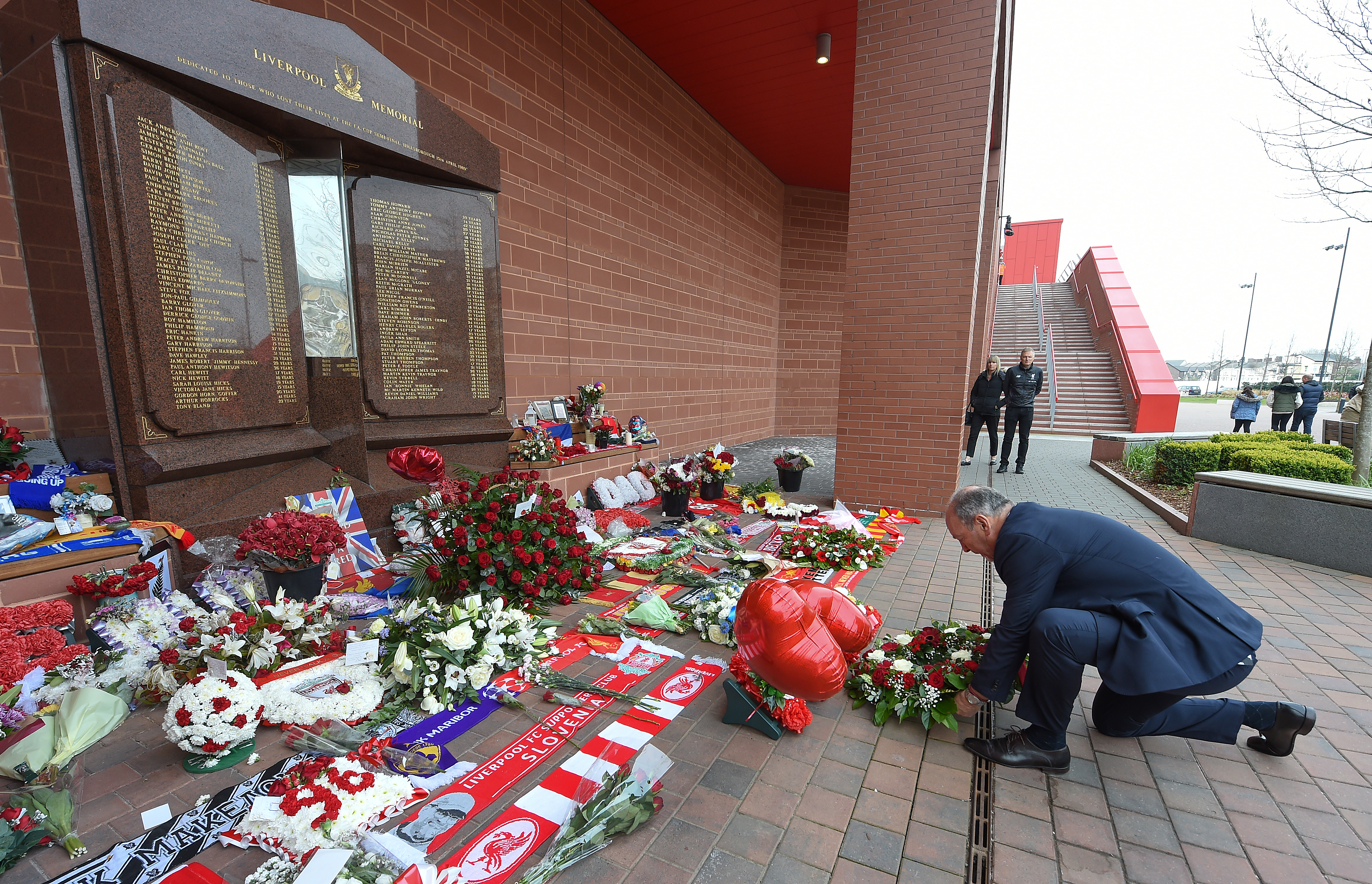 Liverpool Teams Mark The 30th Anniversary Of The Hillsborough Disaster