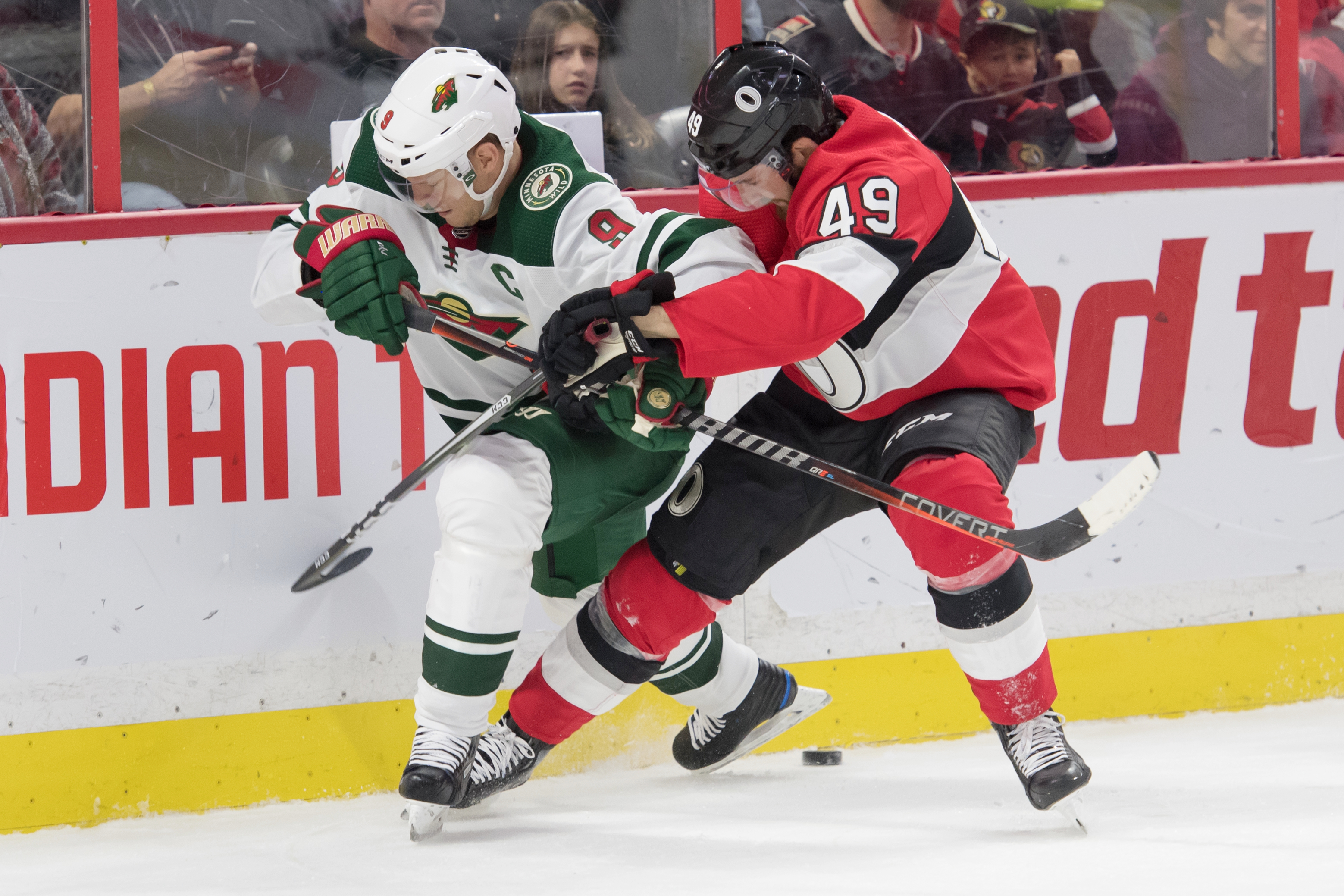 NHL: Minnesota Wild at Ottawa Senators