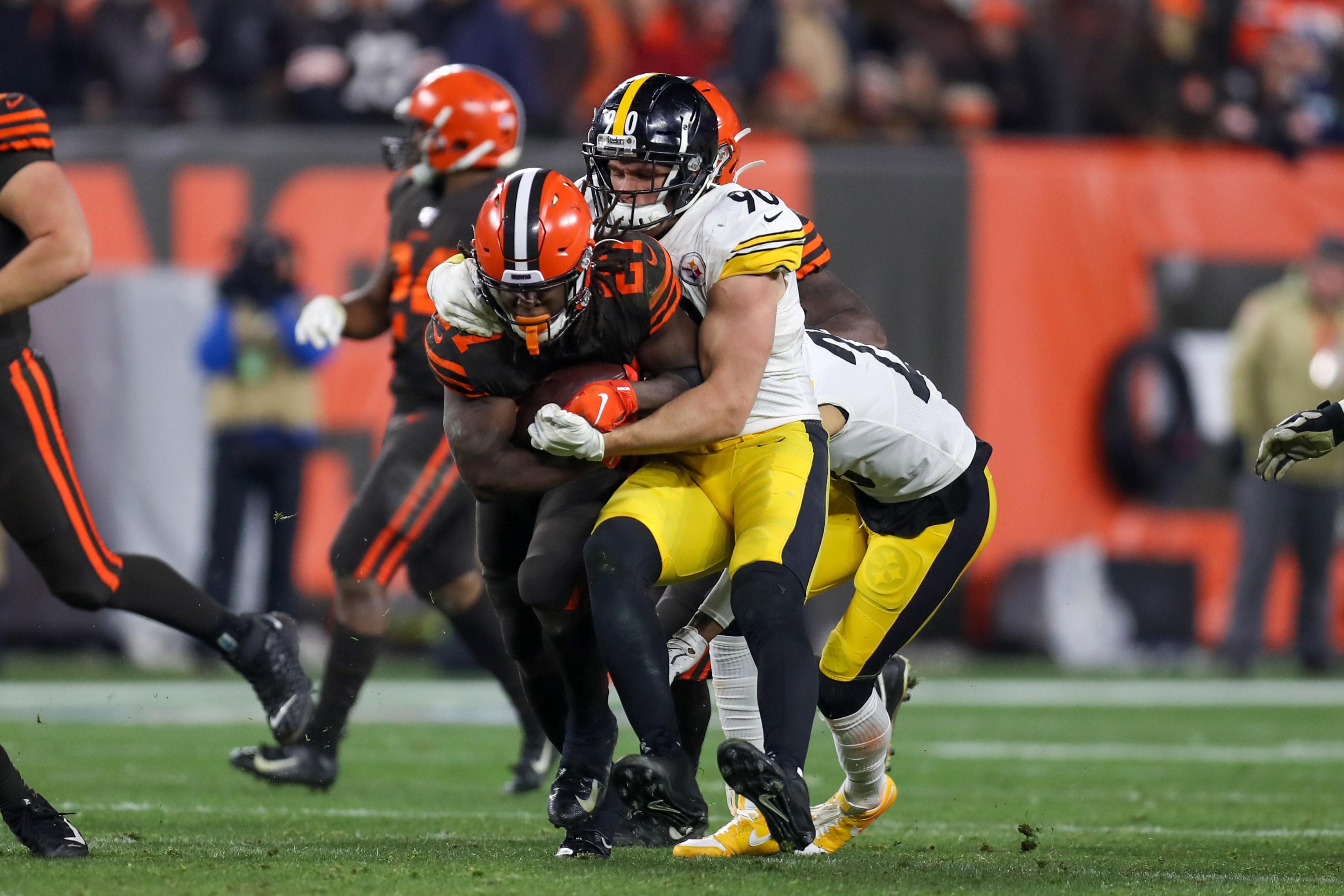 NFL: NOV 14 Steelers at Browns