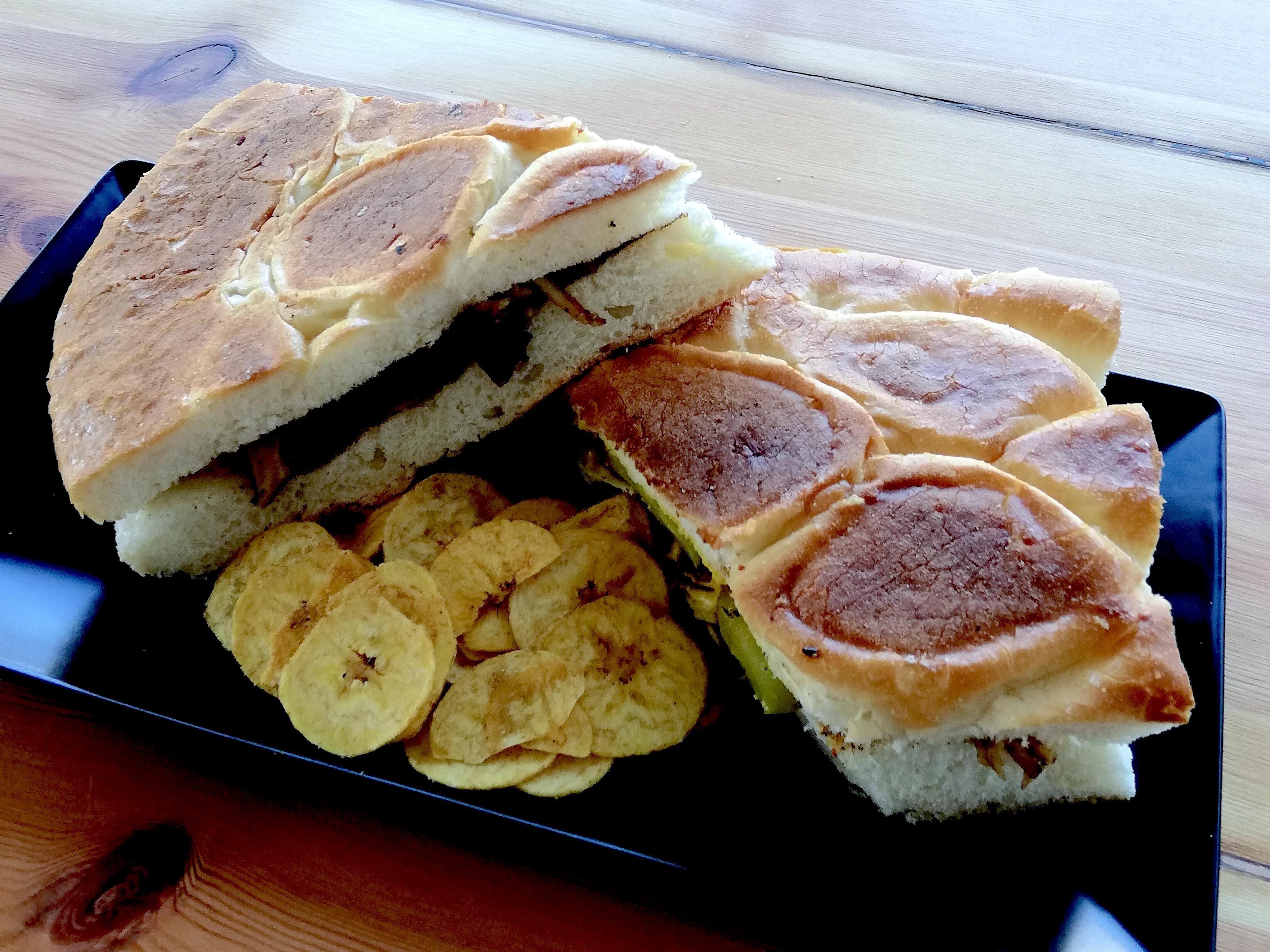 The roast pork Cubano sandwich at VT E15, Hackney Wick